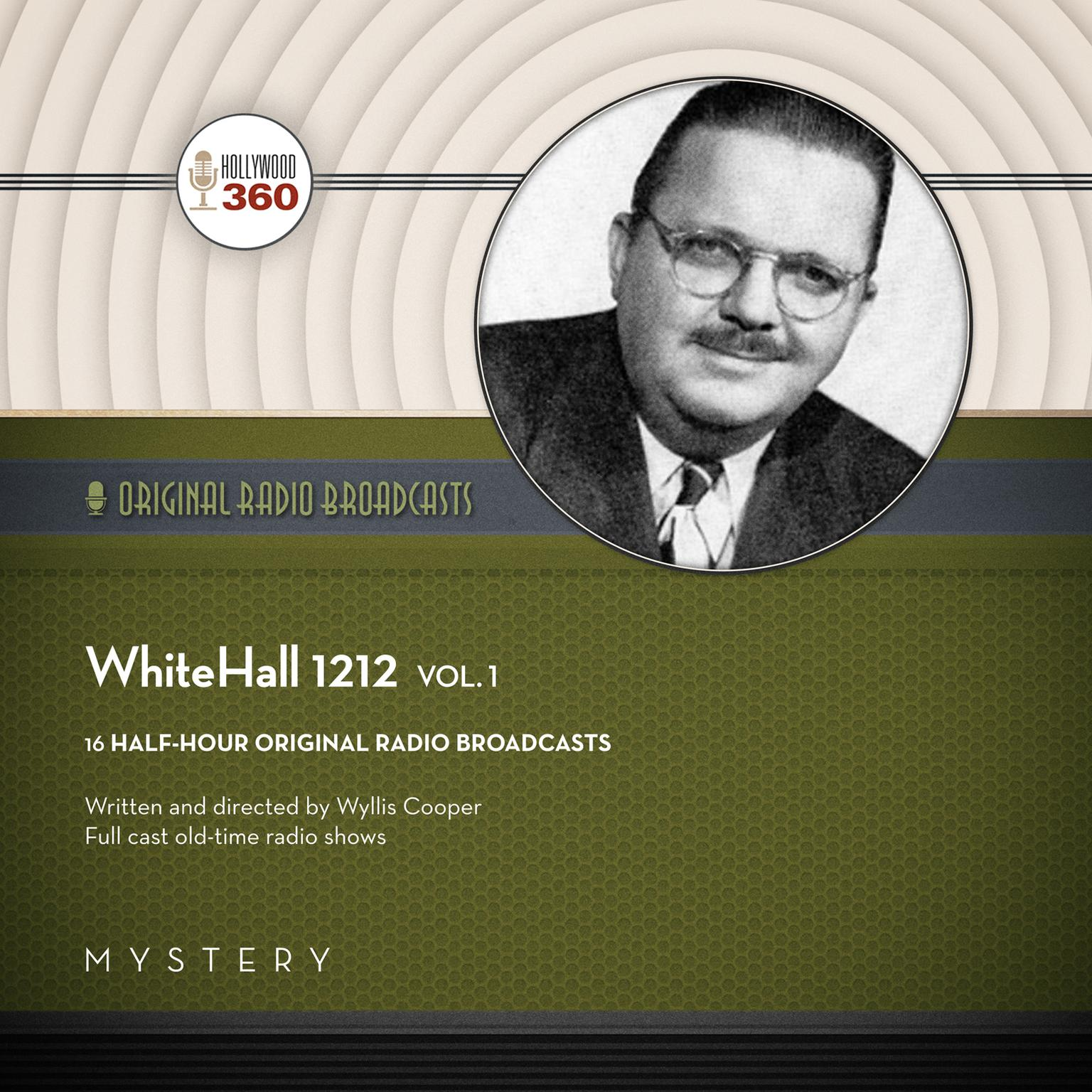Printable WhiteHall 1212, Vol. 1 Audiobook Cover Art