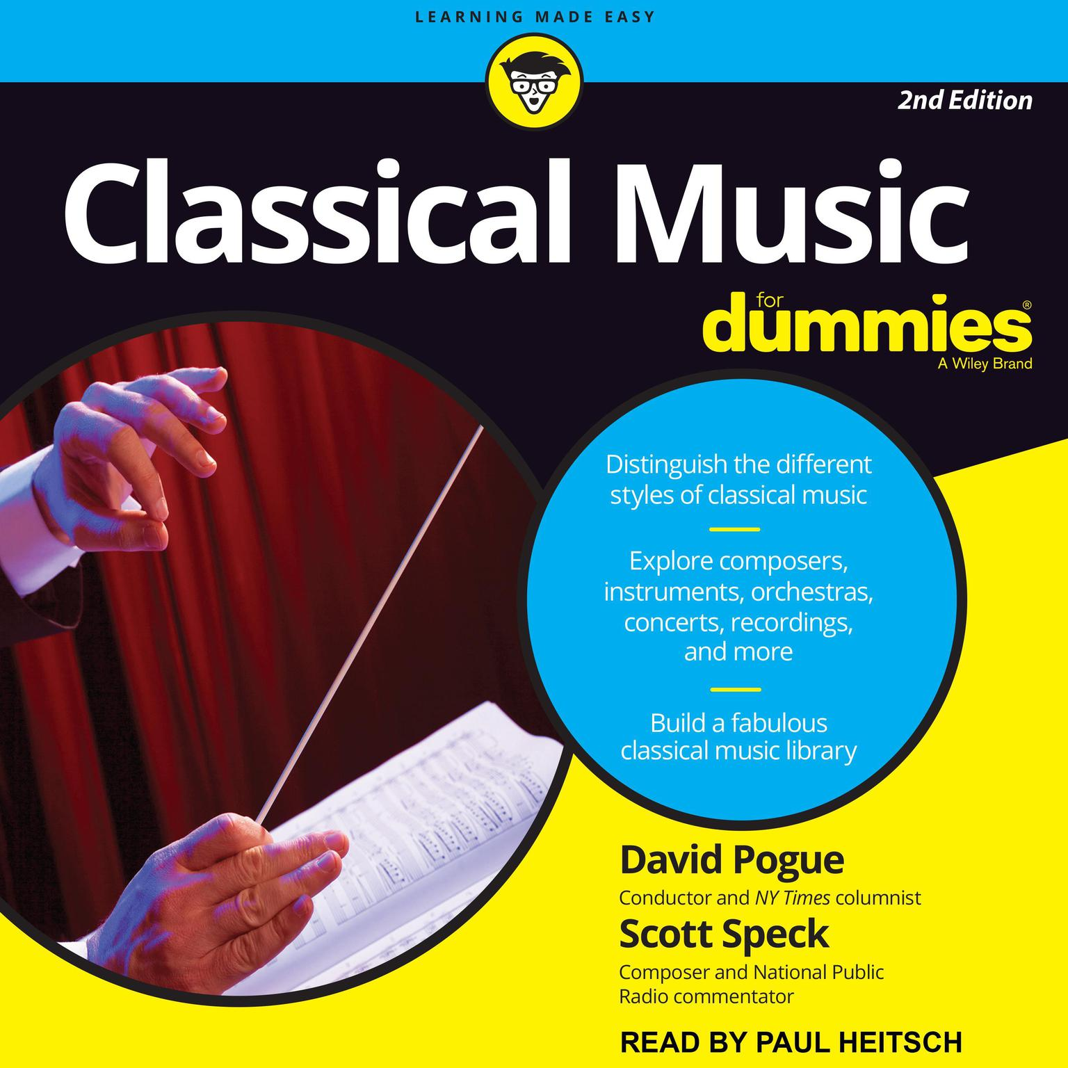 Classical Music For Dummies: 2nd Edition Audiobook, by David Pogue