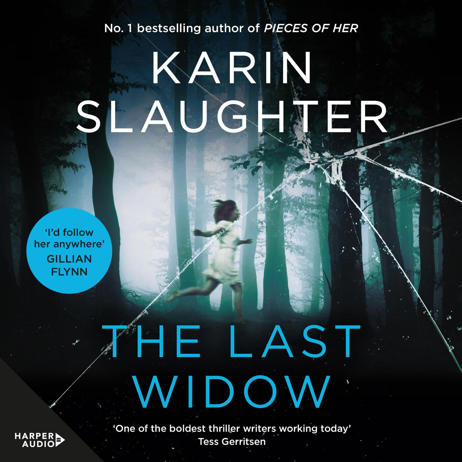 Printable The Last Widow Audiobook Cover Art