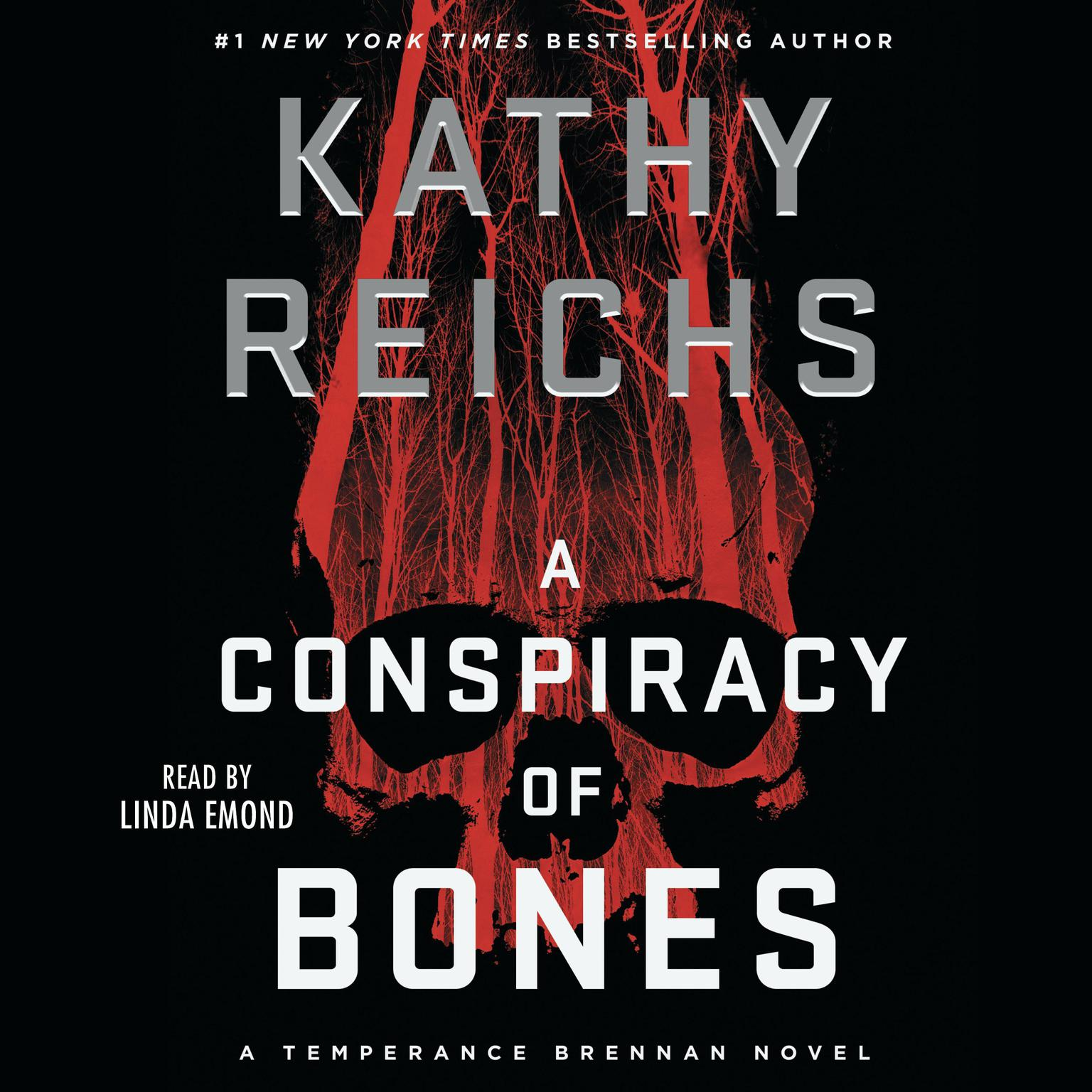 Printable A Conspiracy of Bones Audiobook Cover Art