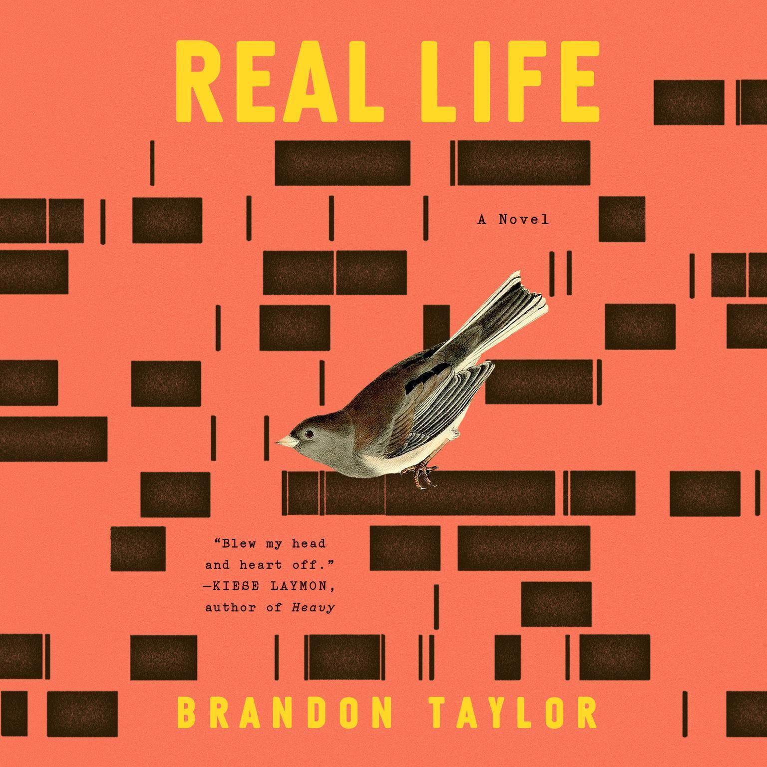 Printable Real Life: A Novel Audiobook Cover Art