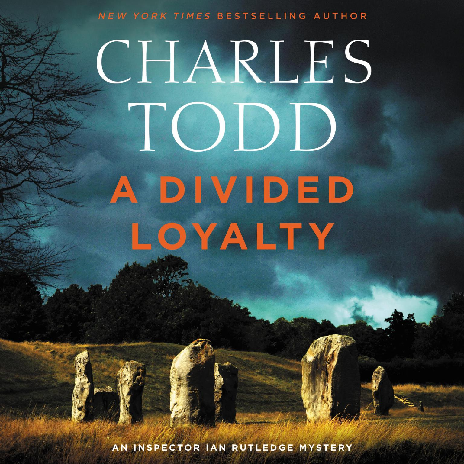 Printable A Divided Loyalty: A Novel Audiobook Cover Art