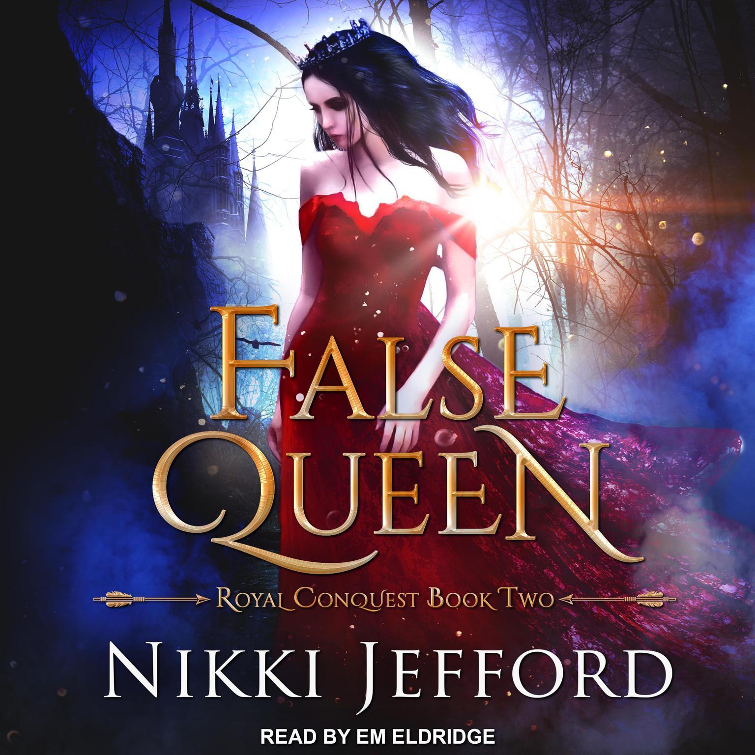 Printable False Queen Audiobook Cover Art