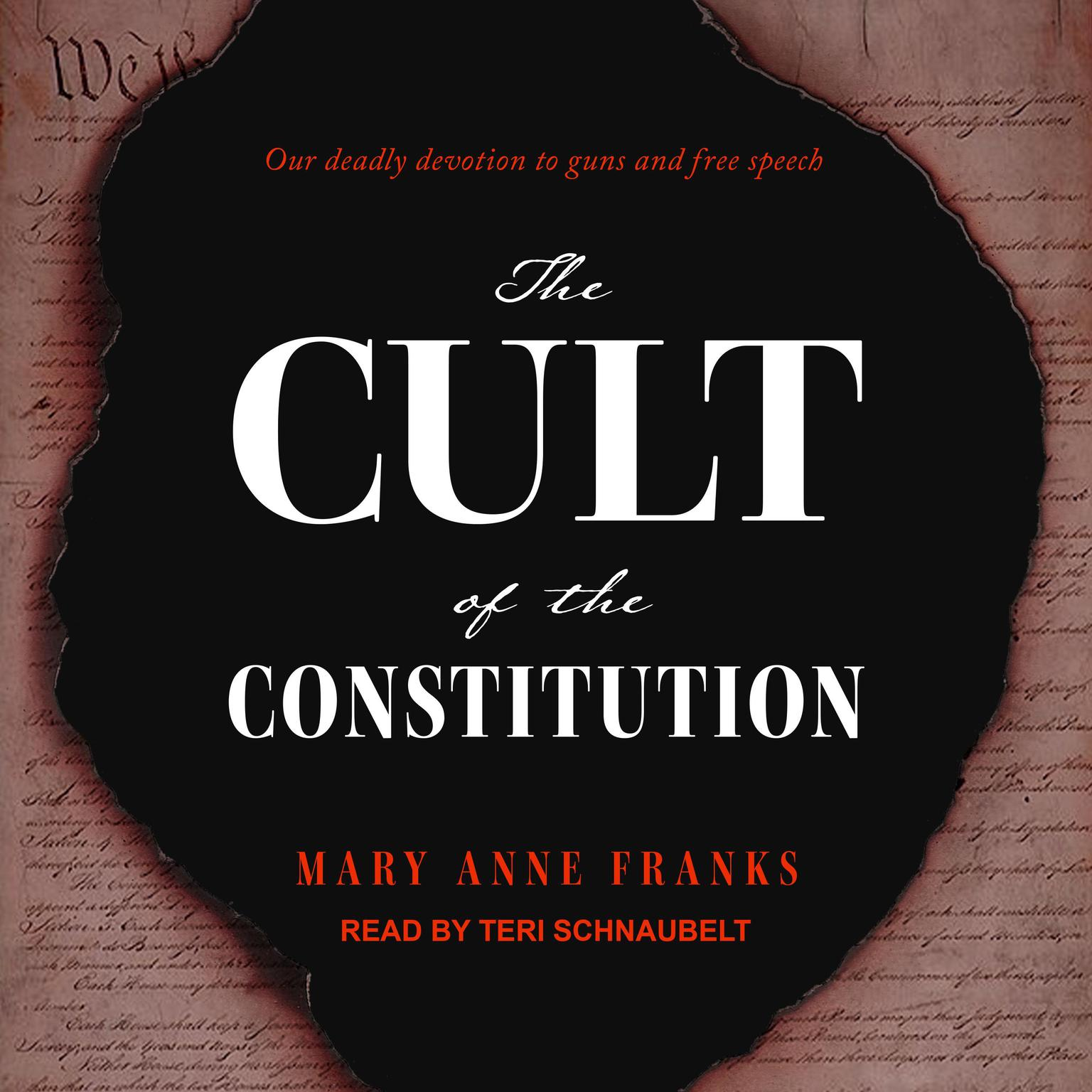 Printable The Cult of the Constitution Audiobook Cover Art