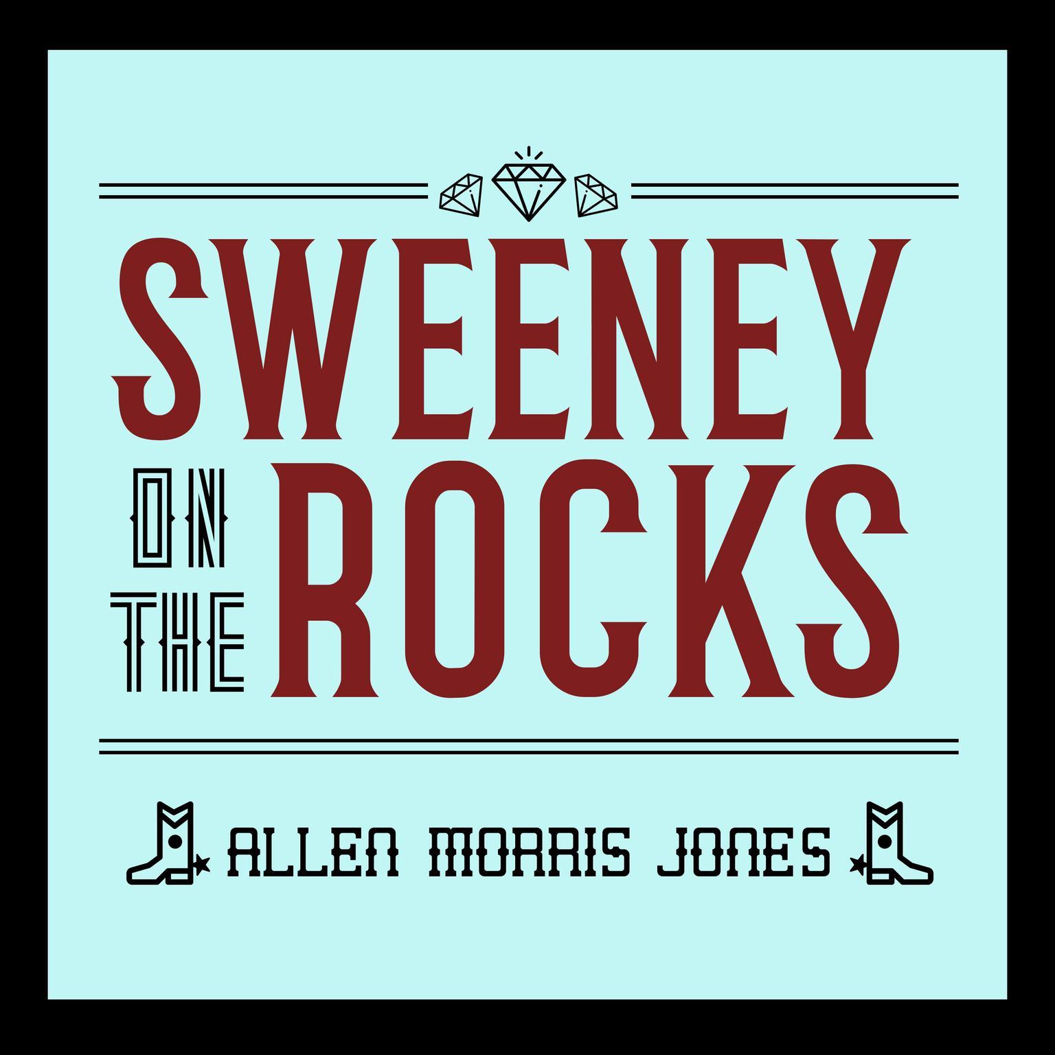 Printable Sweeney on the Rocks Audiobook Cover Art