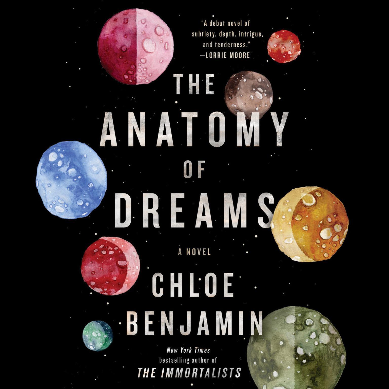 Printable The Anatomy of Dreams: A Novel Audiobook Cover Art