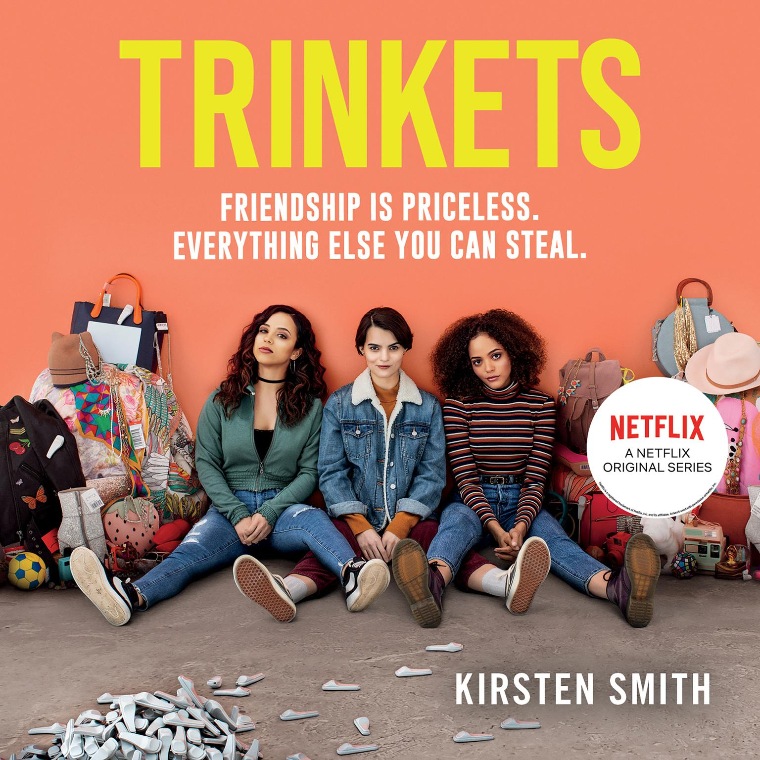 Printable Trinkets Audiobook Cover Art