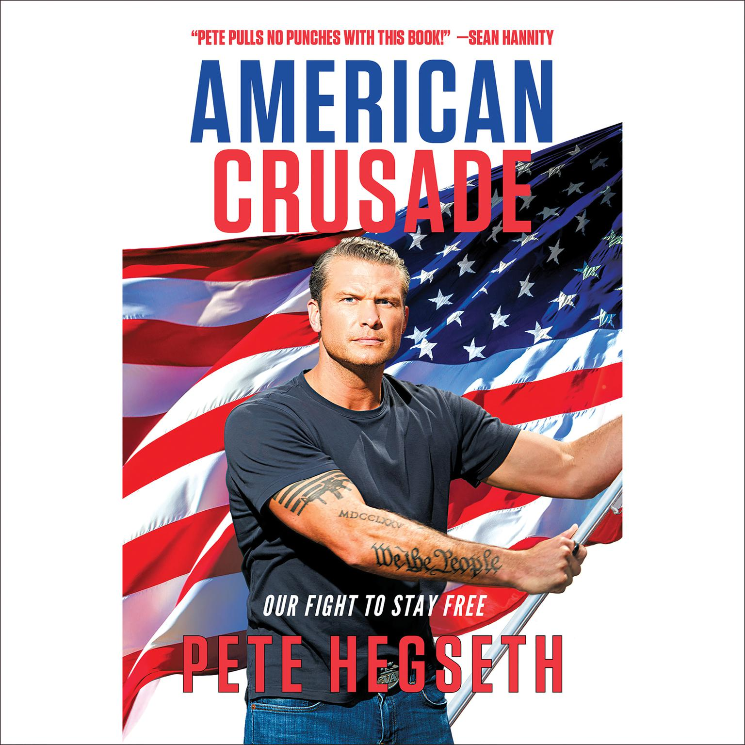 Printable American Crusade: Our Fight to Stay Free Audiobook Cover Art