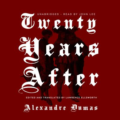Twenty Years After Audiobook, by