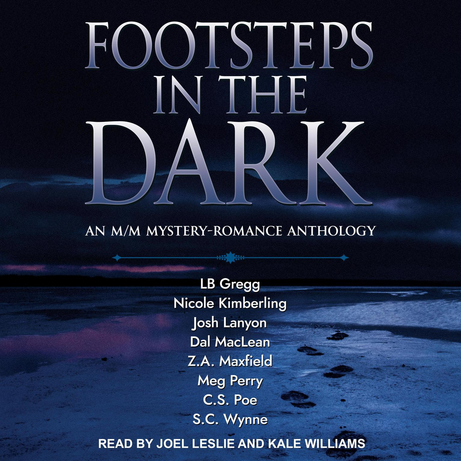 FOOTSTEPS IN THE DARK: An M/M Mystery-Romance Anthology Audiobook, by Josh Lanyon
