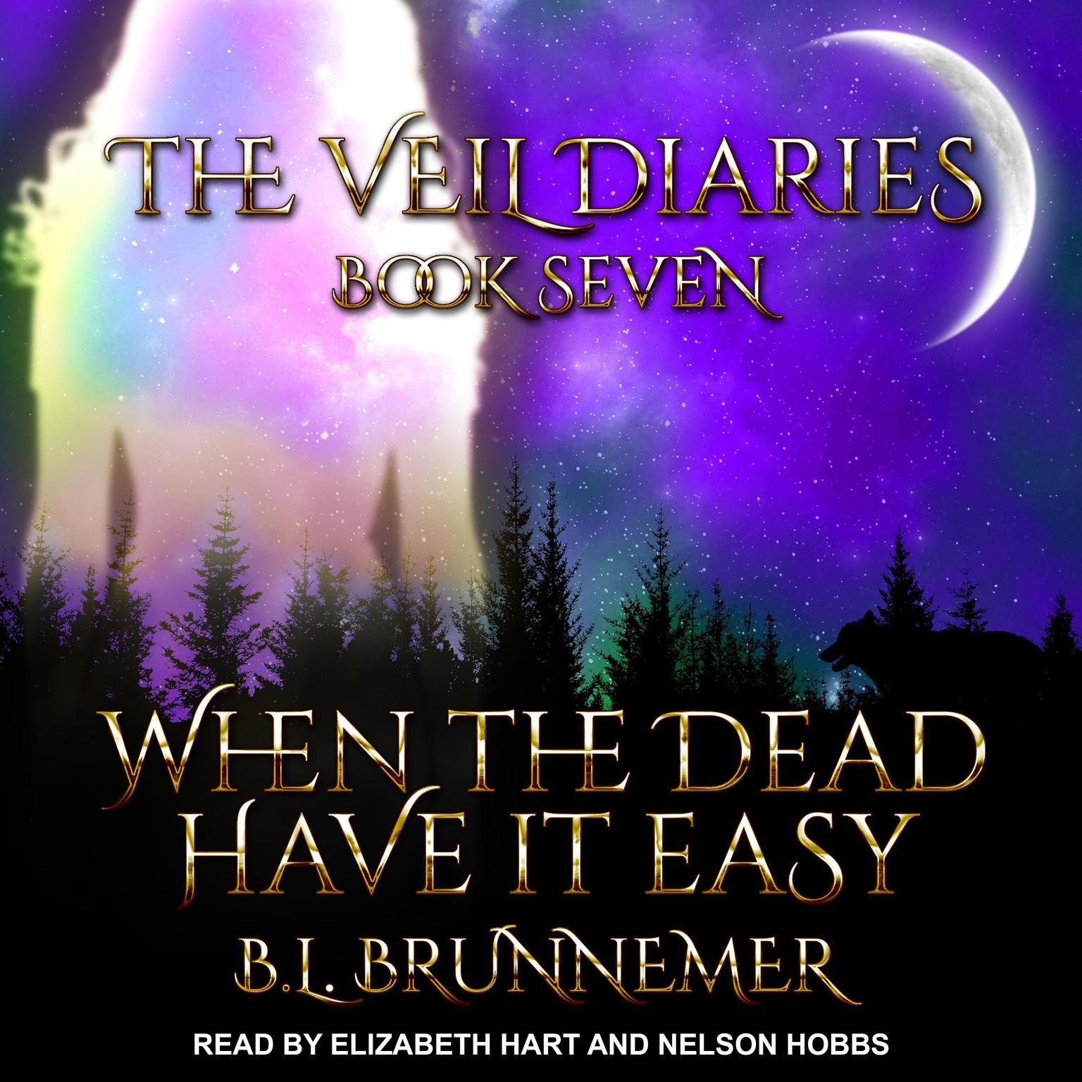 Printable When the Dead Have It Easy Audiobook Cover Art