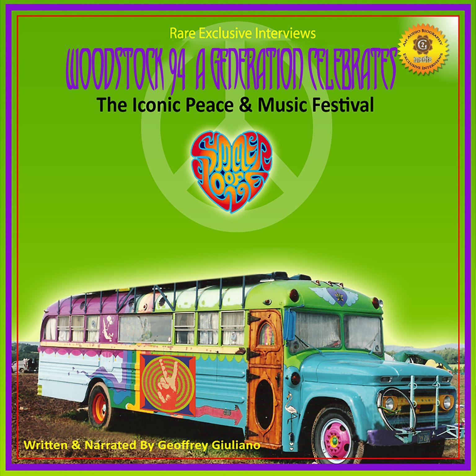Printable Woodstock 94: A Generation Celebrates - The Iconic Peace & Music Festival Audiobook Cover Art