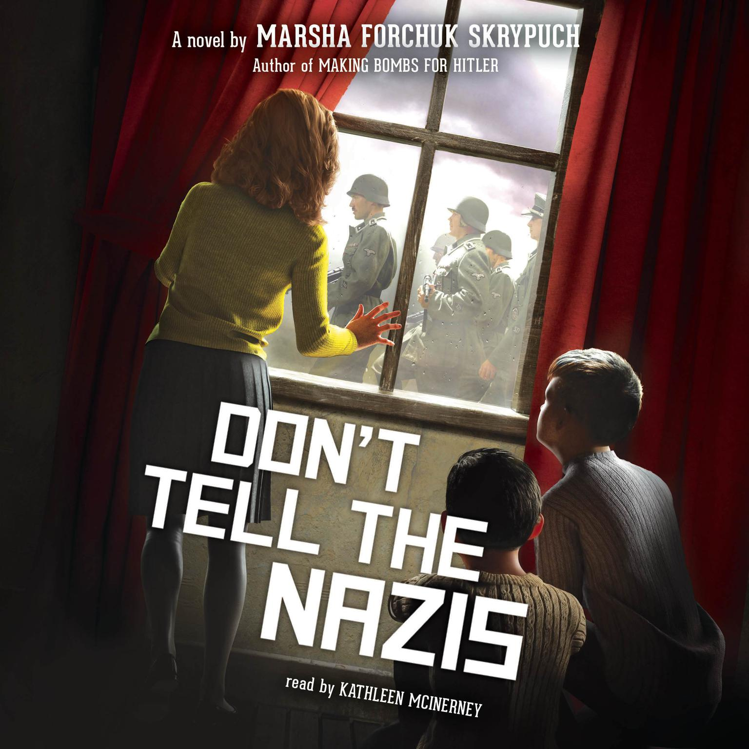 Printable Don't Tell the Nazis Audiobook Cover Art
