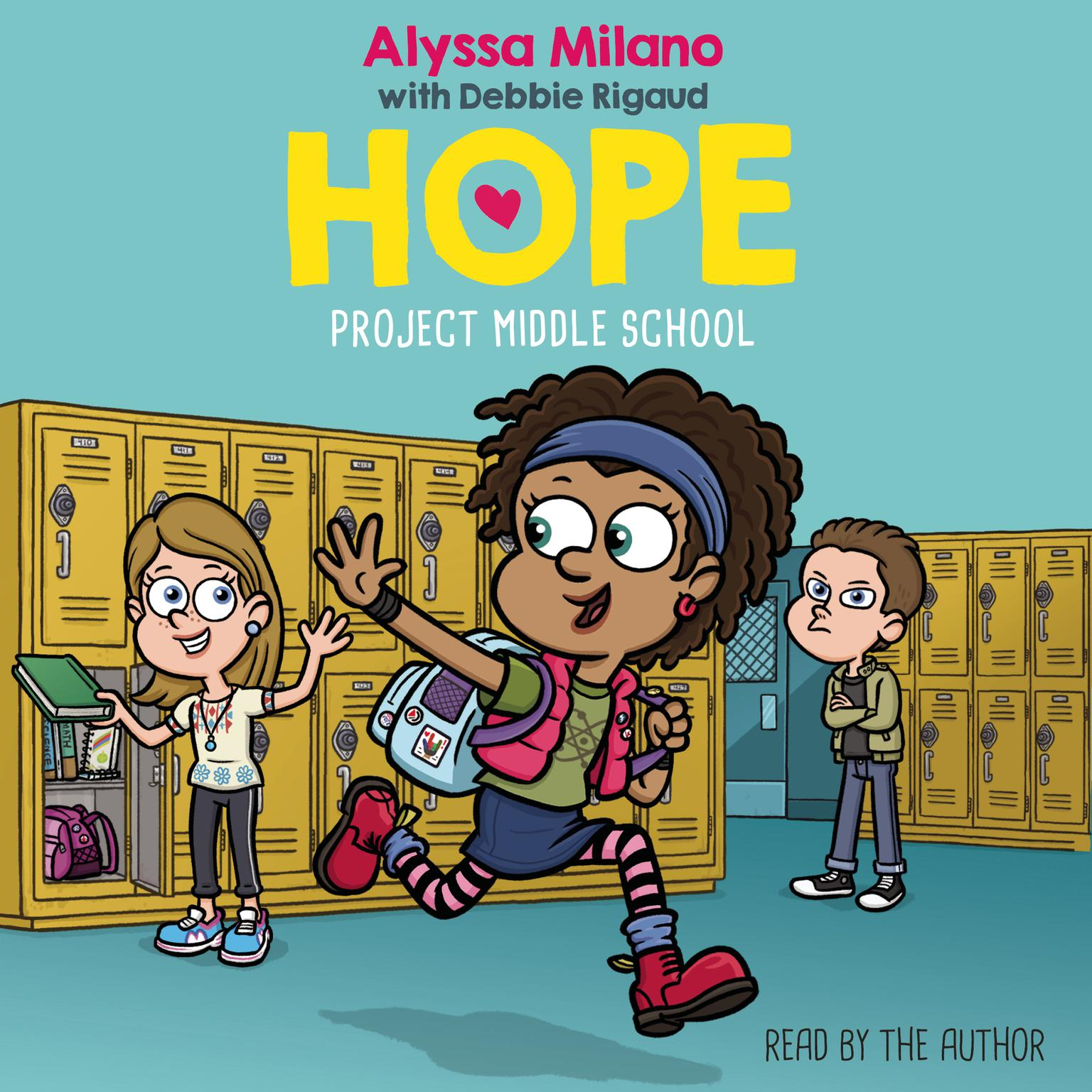 Printable Project Middle School Audiobook Cover Art