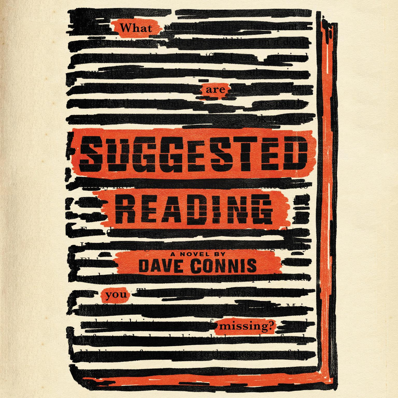Printable Suggested Reading Audiobook Cover Art