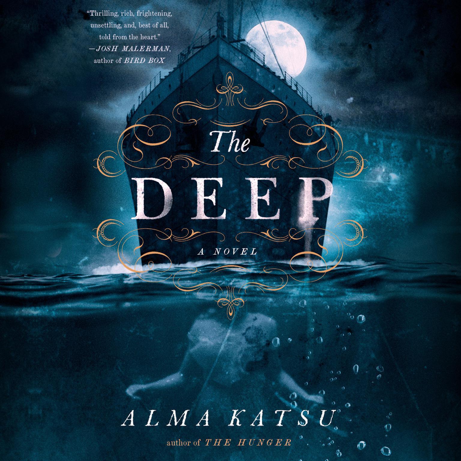 Printable The Deep Audiobook Cover Art