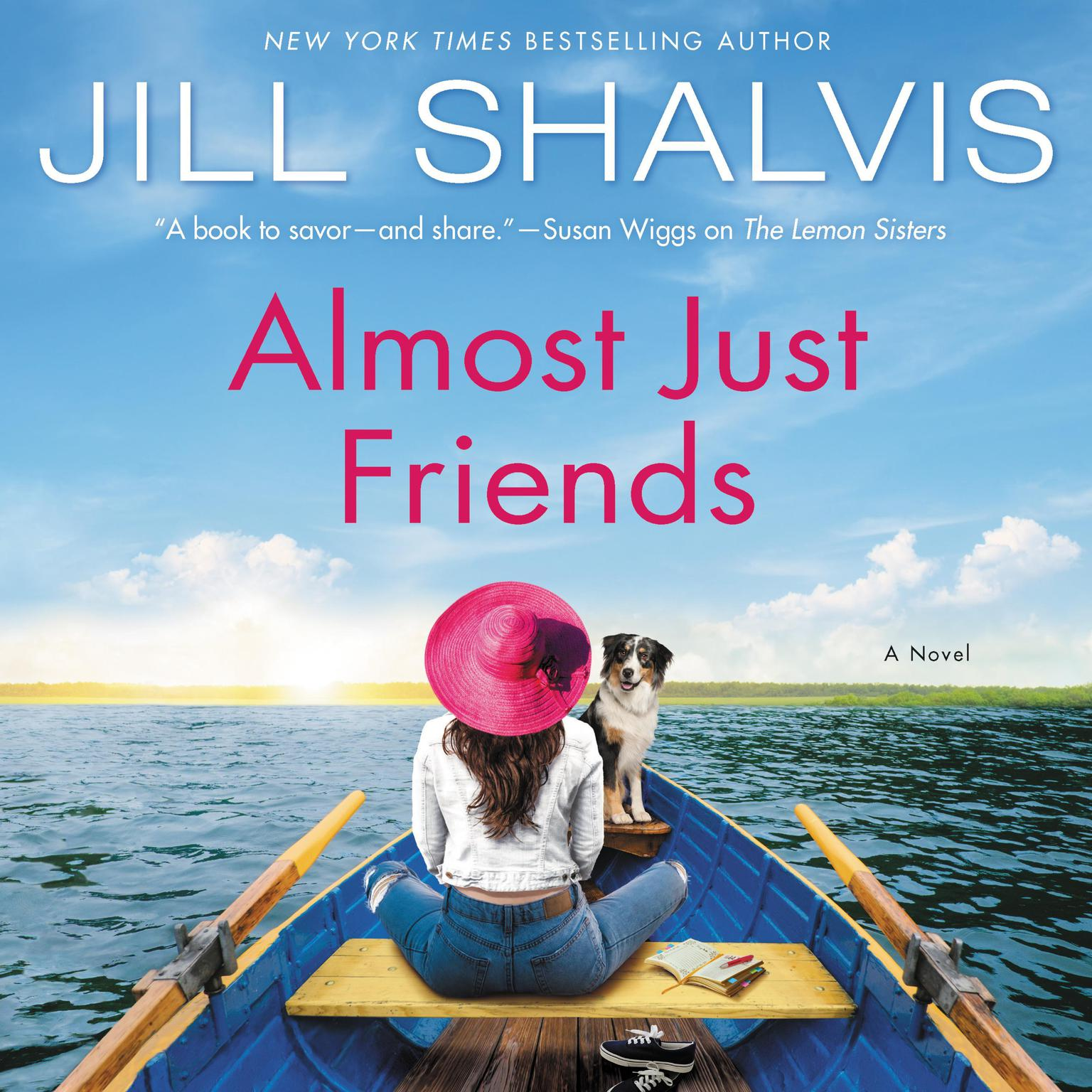 Printable Almost Just Friends: A Novel Audiobook Cover Art