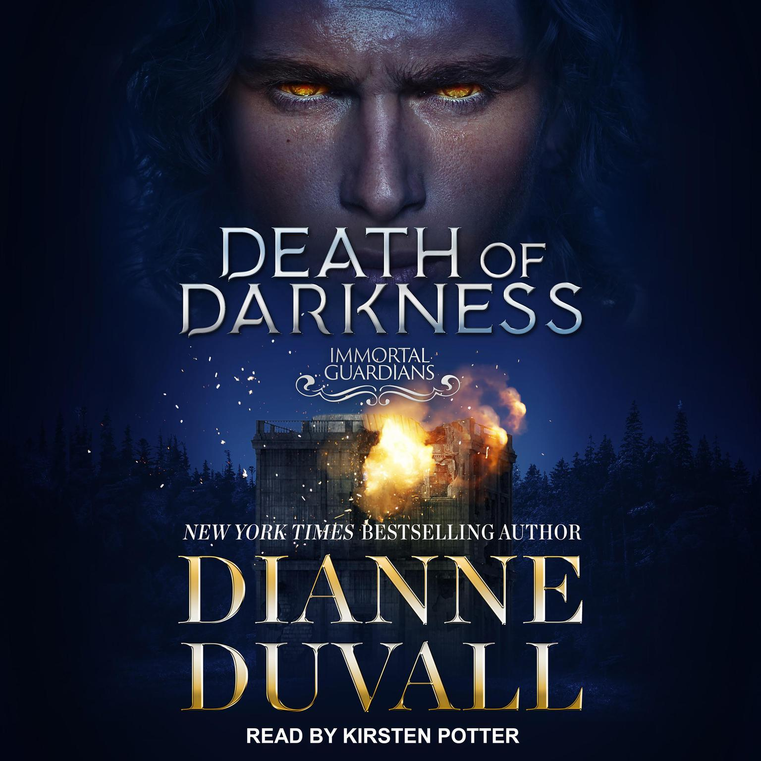 Printable Death of Darkness Audiobook Cover Art