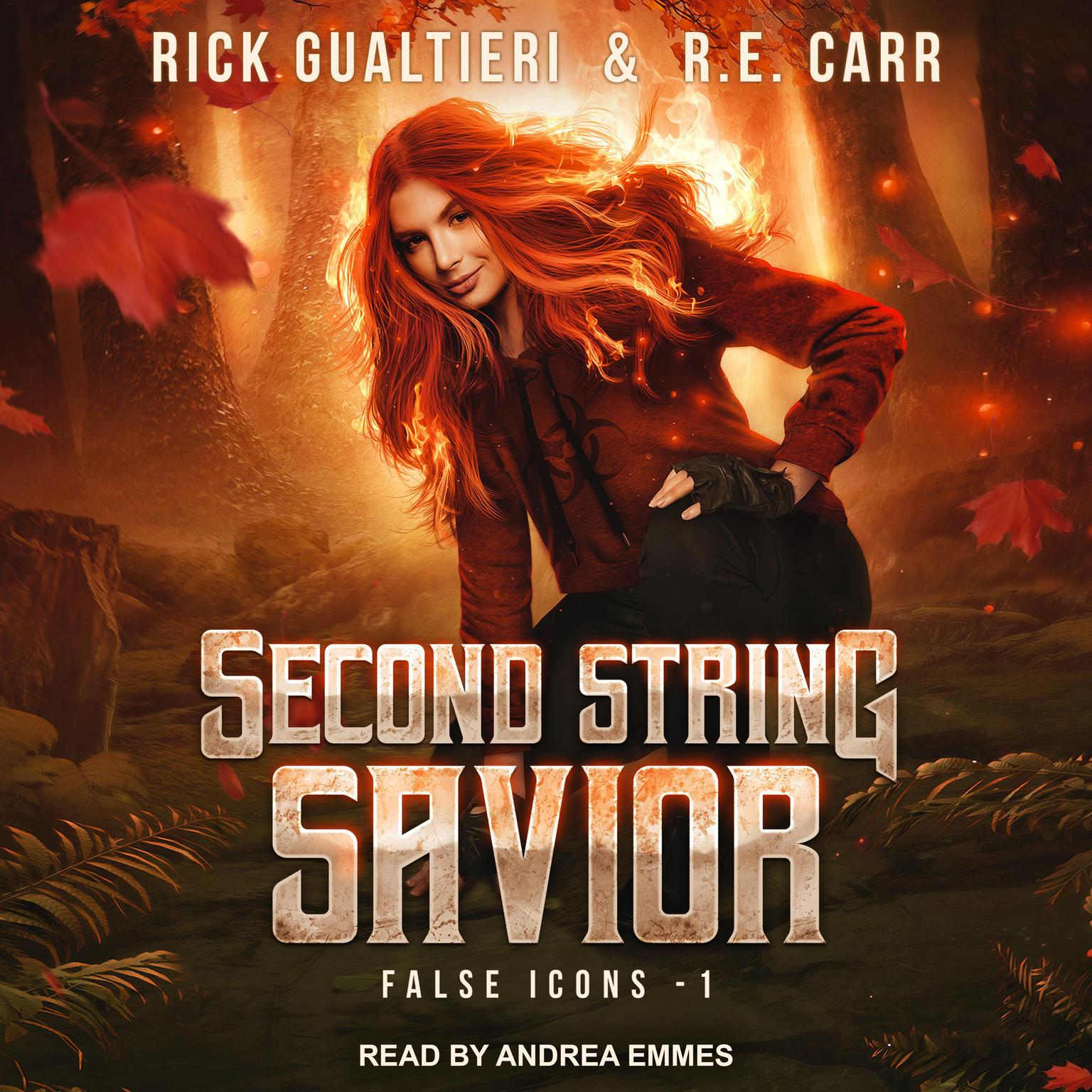 Printable Second String Savior: From the Tome of Bill Universe Audiobook Cover Art
