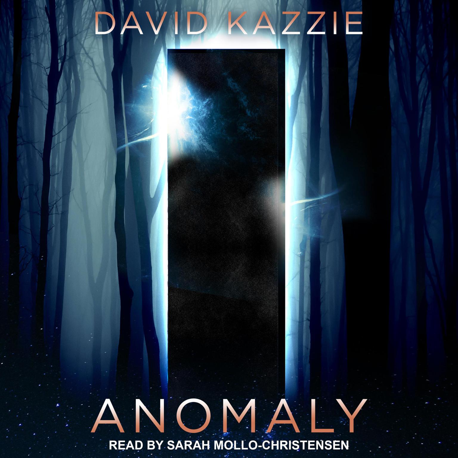 Printable Anomaly Audiobook Cover Art