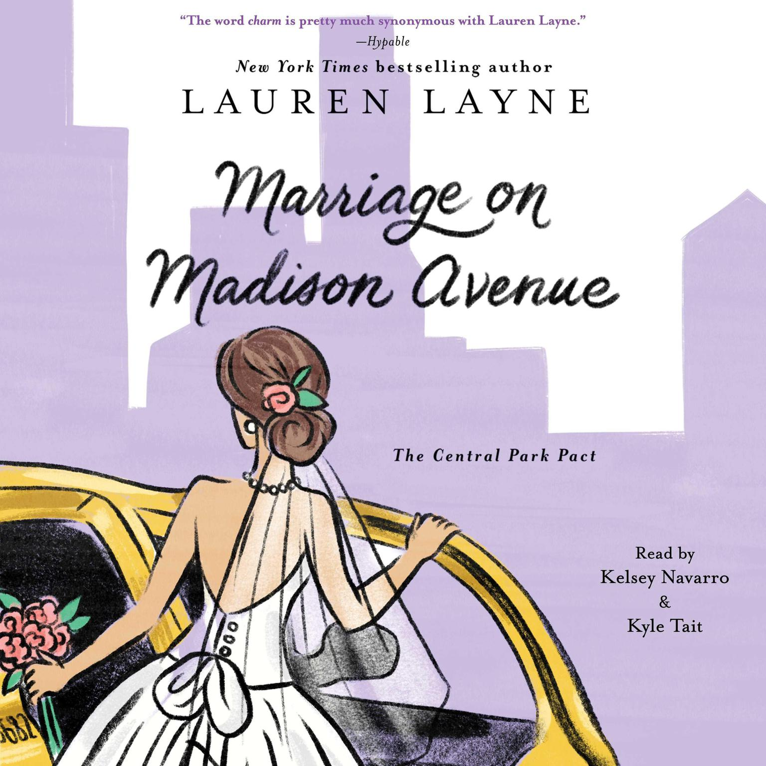 Printable Marriage on Madison Avenue Audiobook Cover Art