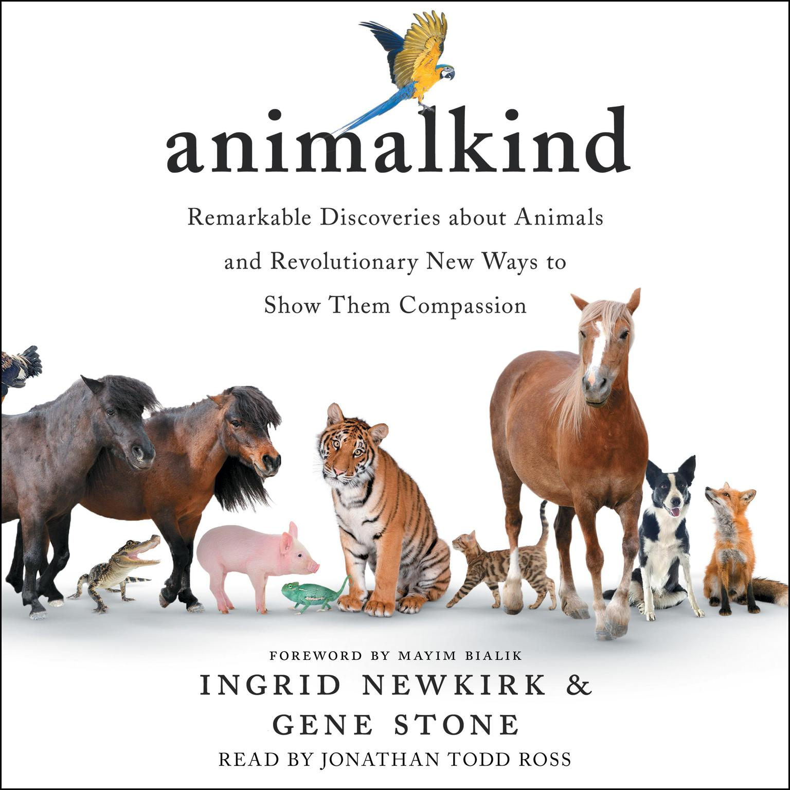 Printable Animalkind: Remarkable Discoveries About Animals and Revolutionary New Ways to Show Them Compassion Audiobook Cover Art
