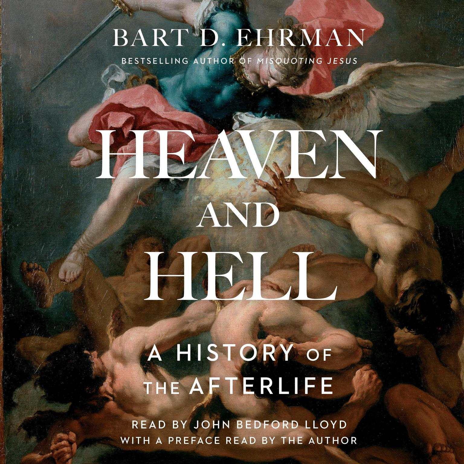 Printable Heaven and Hell: A History of the Afterlife Audiobook Cover Art