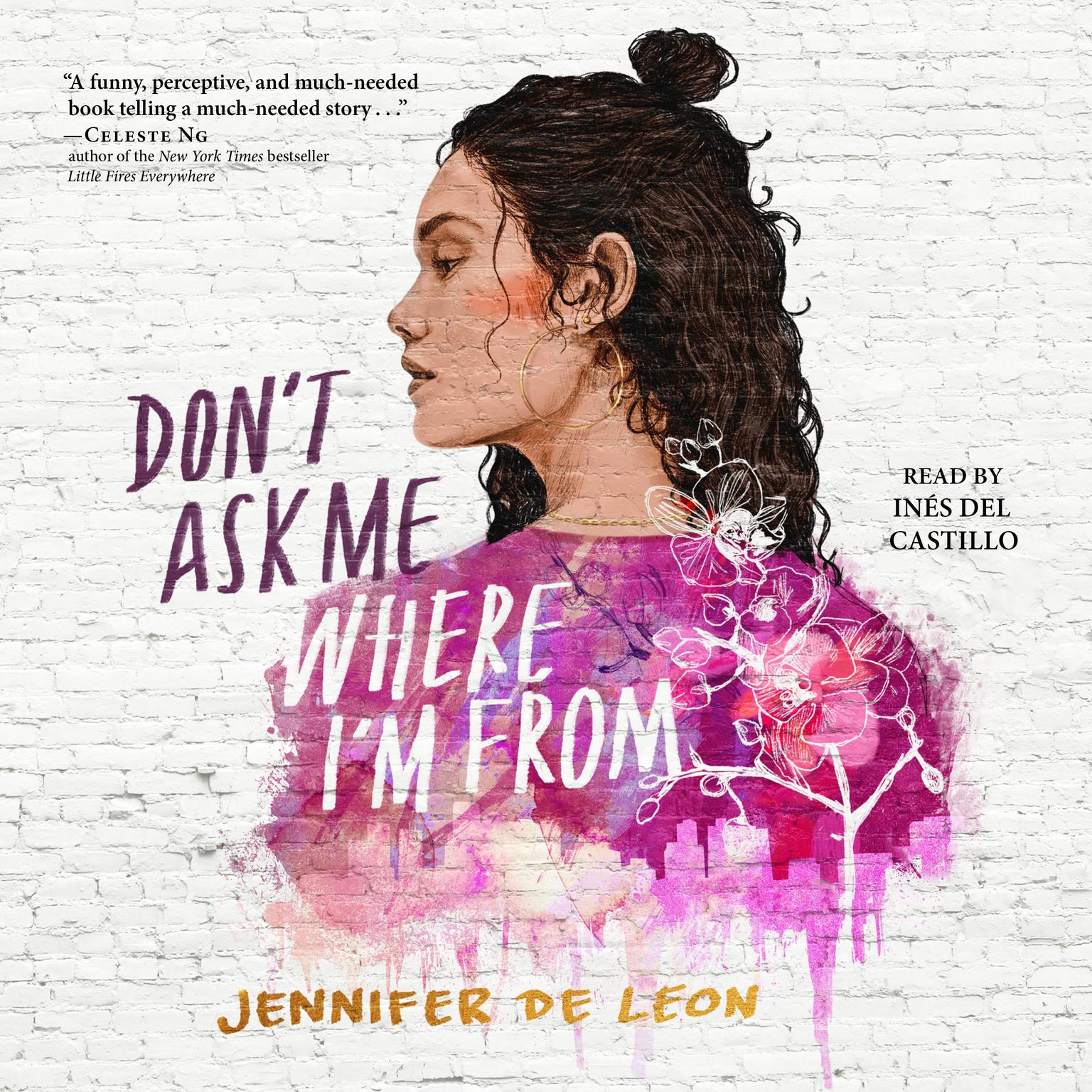 Printable Don't Ask Me Where I'm From Audiobook Cover Art