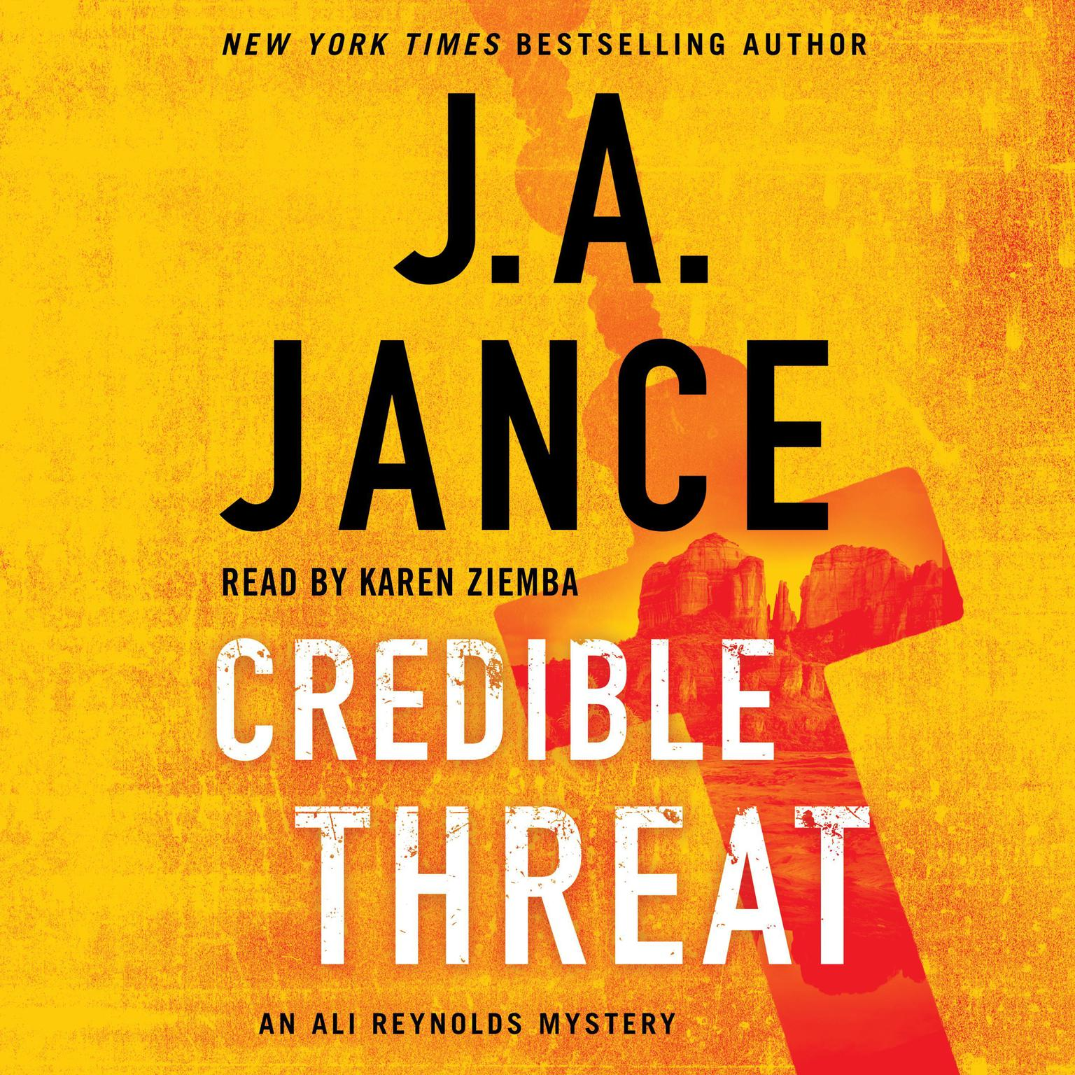 Credible Threat Audiobook, by J. A. Jance