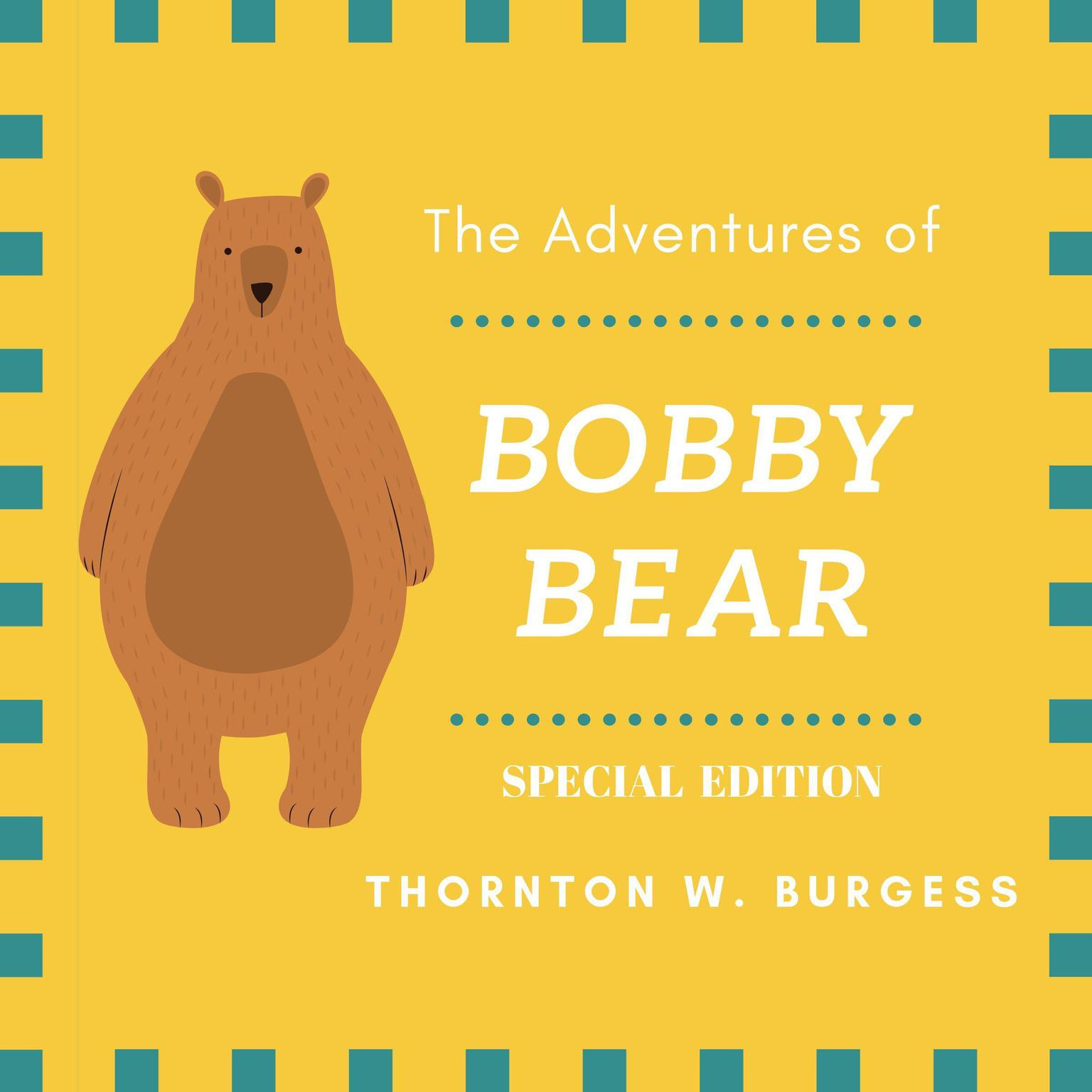 Printable The Adventures of Buster Bear (Special Edition) Audiobook Cover Art