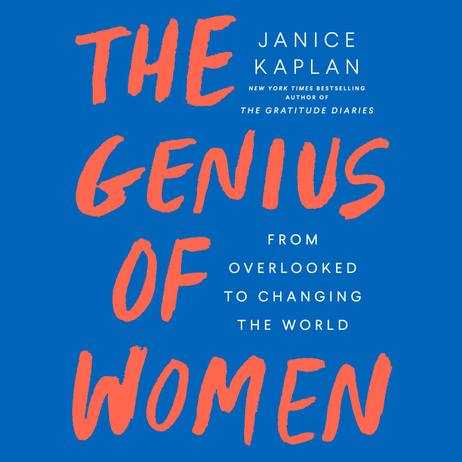 Printable The Genius of Women: From Overlooked to Changing the World Audiobook Cover Art