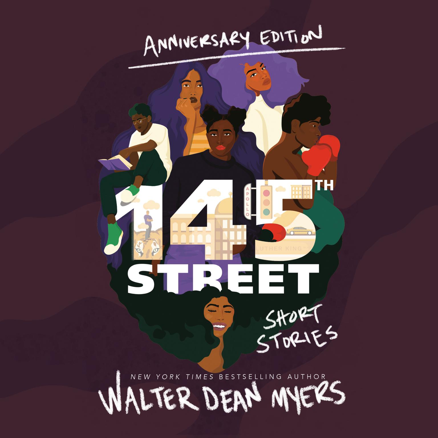 Printable 145th Street: Short Stories Audiobook Cover Art