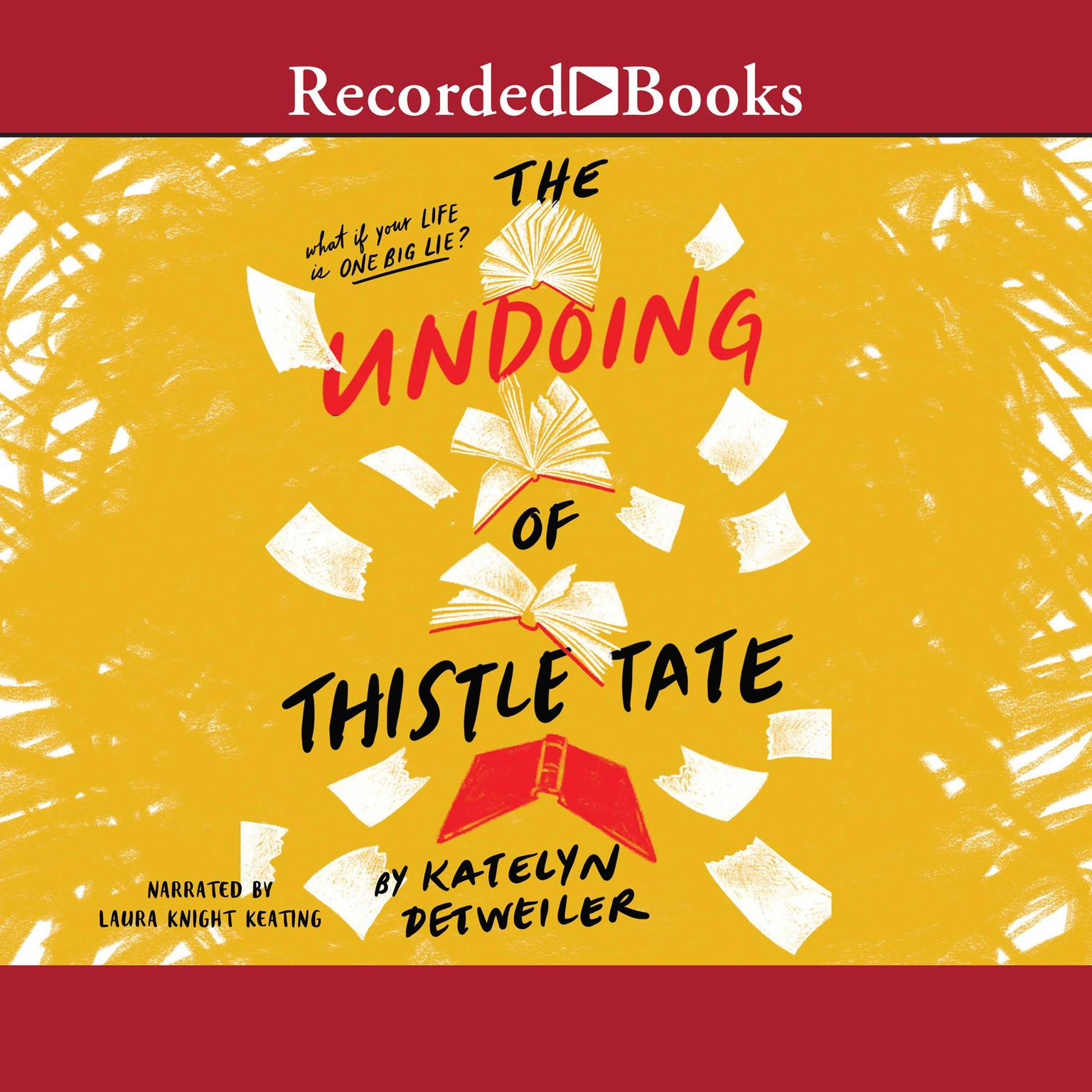 Printable The Undoing of Thistle Tate Audiobook Cover Art