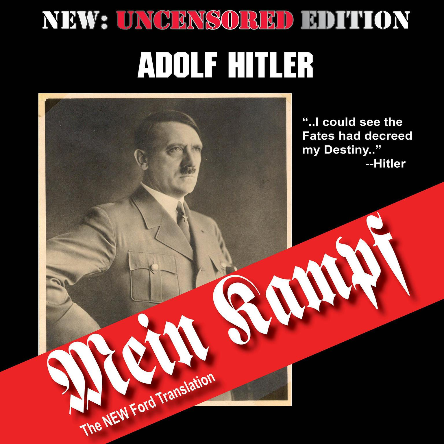 Printable Mein Kampf (The Ford Translation) Audiobook Cover Art