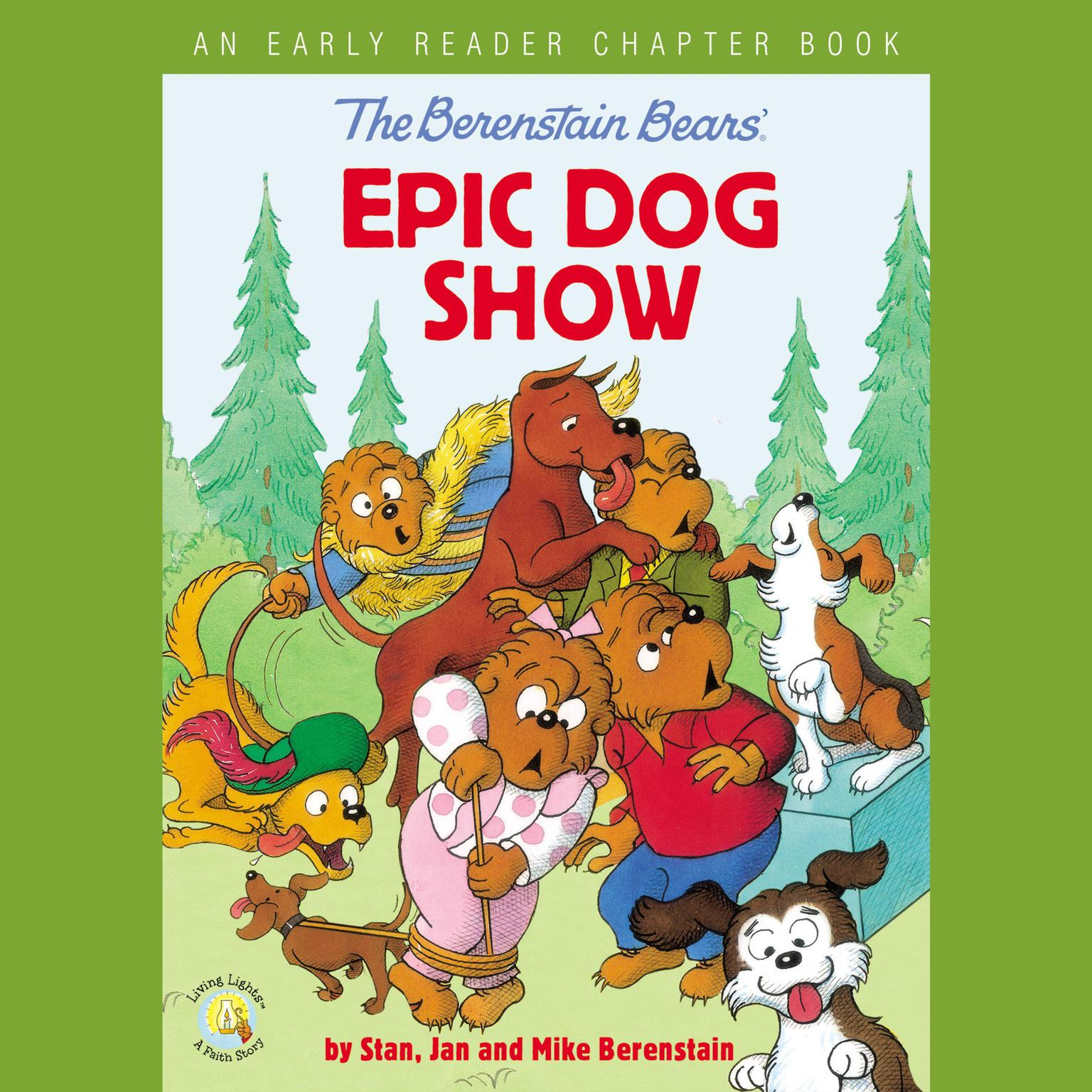 Printable The Berenstain Bears' Epic Dog Show: An Early Reader Chapter Book Audiobook Cover Art