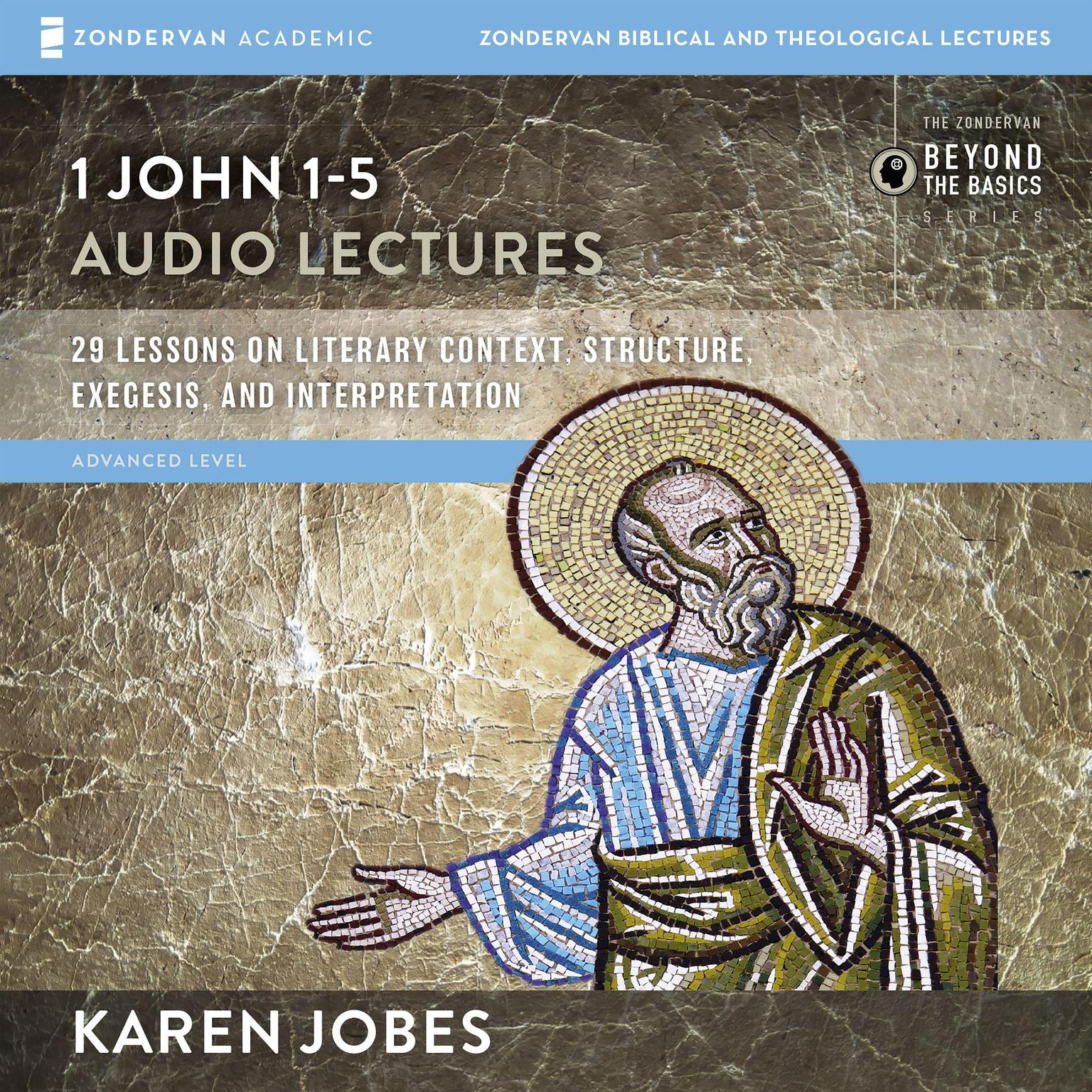 Printable 1 John: Audio Lectures Audiobook Cover Art