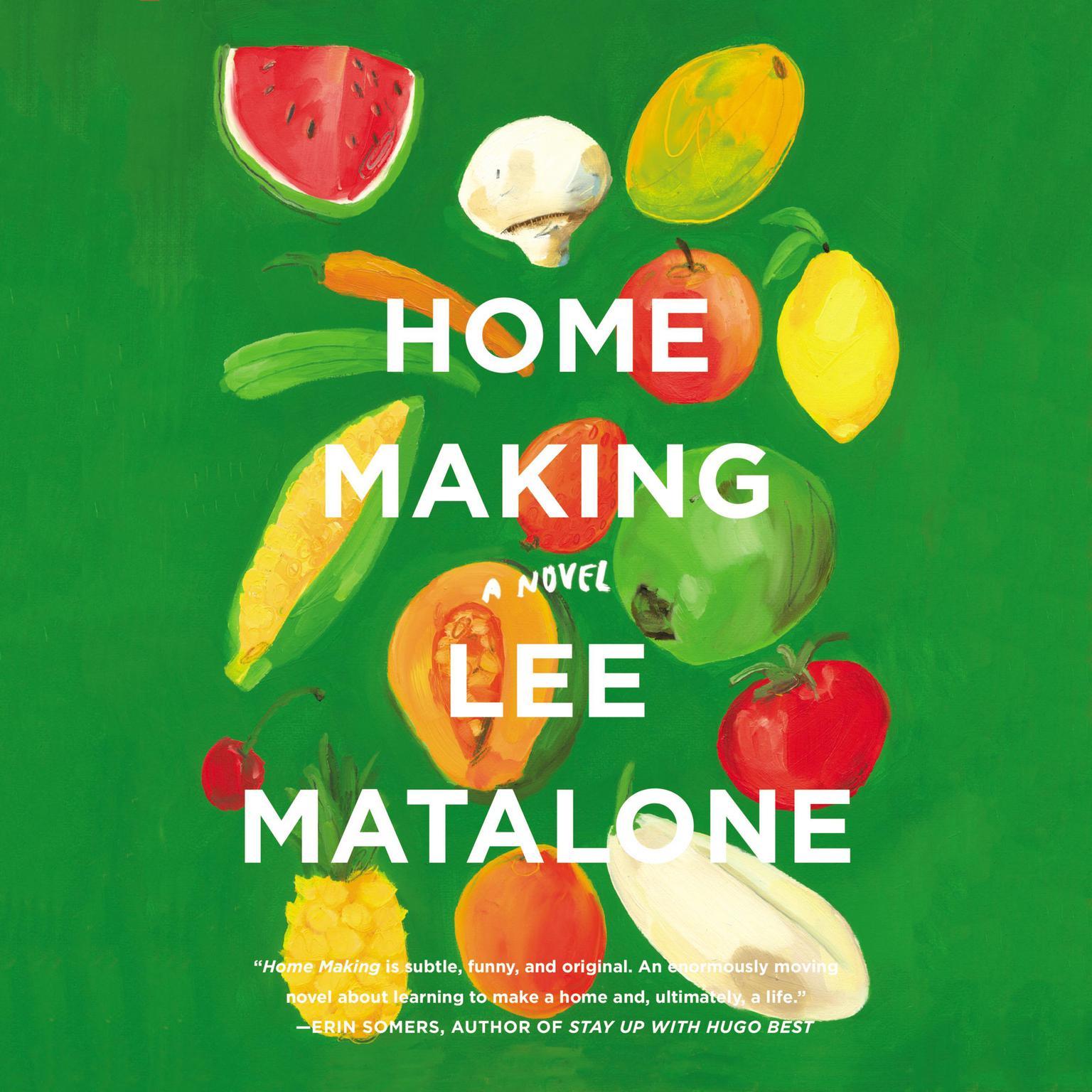 Printable Home Making: A Novel Audiobook Cover Art