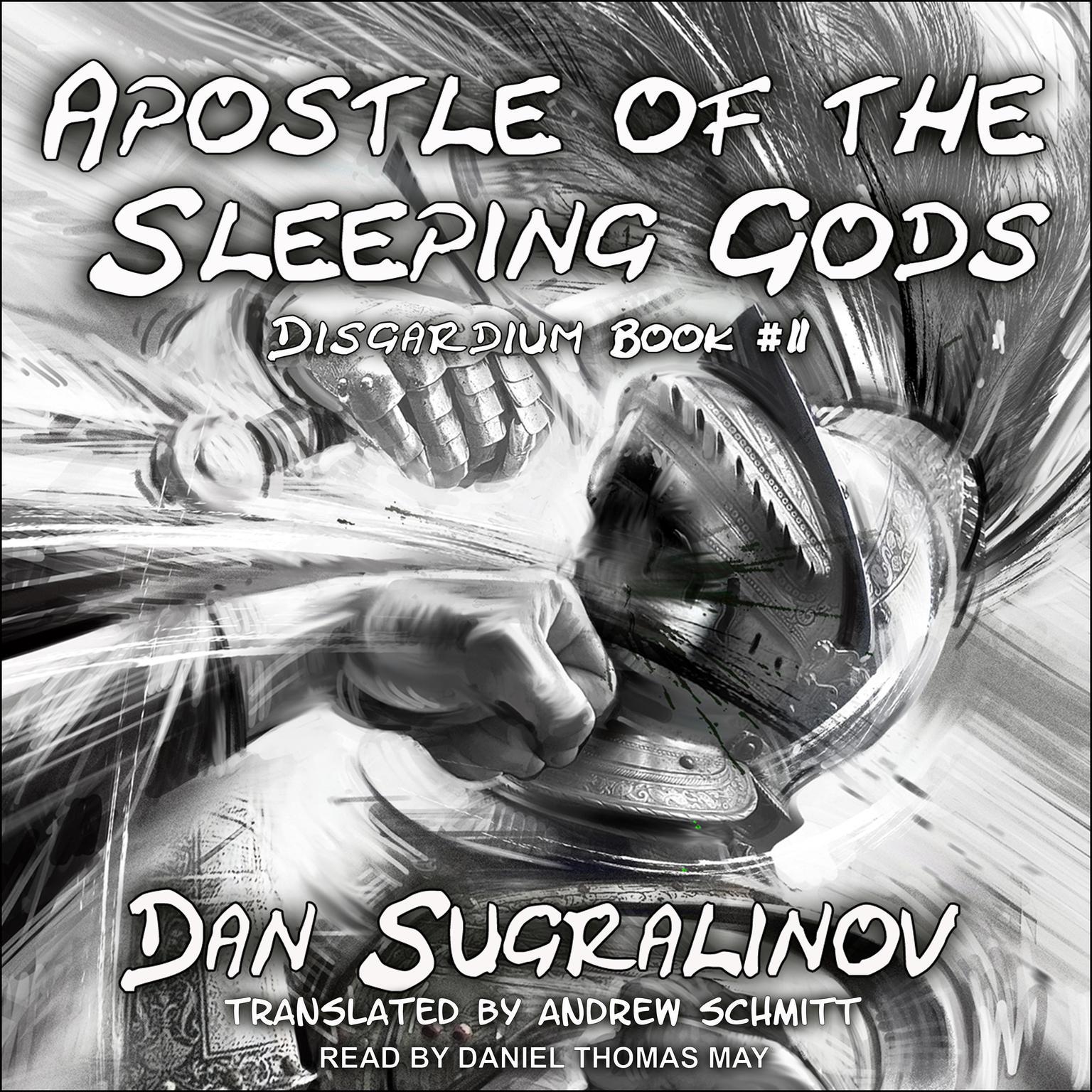 Printable Apostle of the Sleeping Gods Audiobook Cover Art