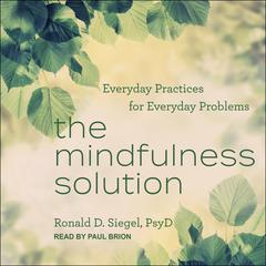 The Mindfulness Solution: Everyday Practices for Everyday Problems Audiobook, by Ronald Siegel