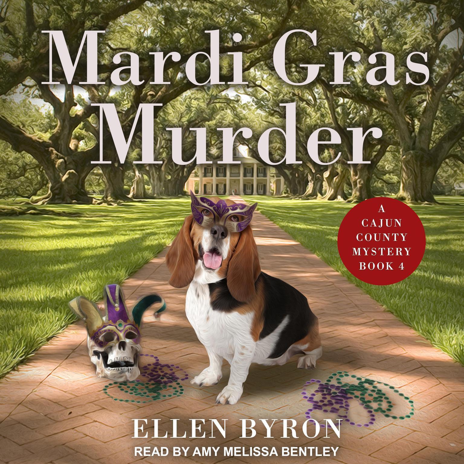 Printable Mardi Gras Murder Audiobook Cover Art