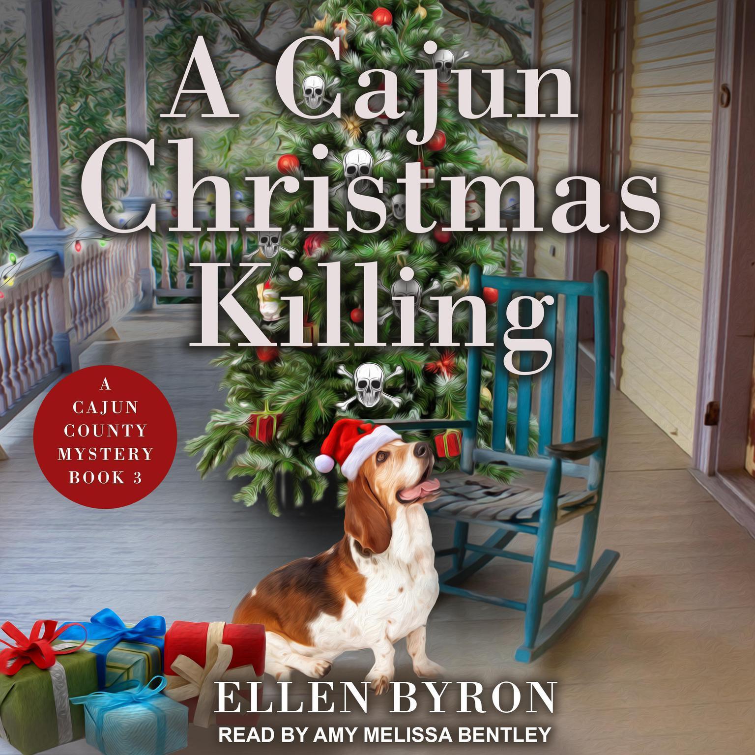 Printable A Cajun Christmas Killing Audiobook Cover Art