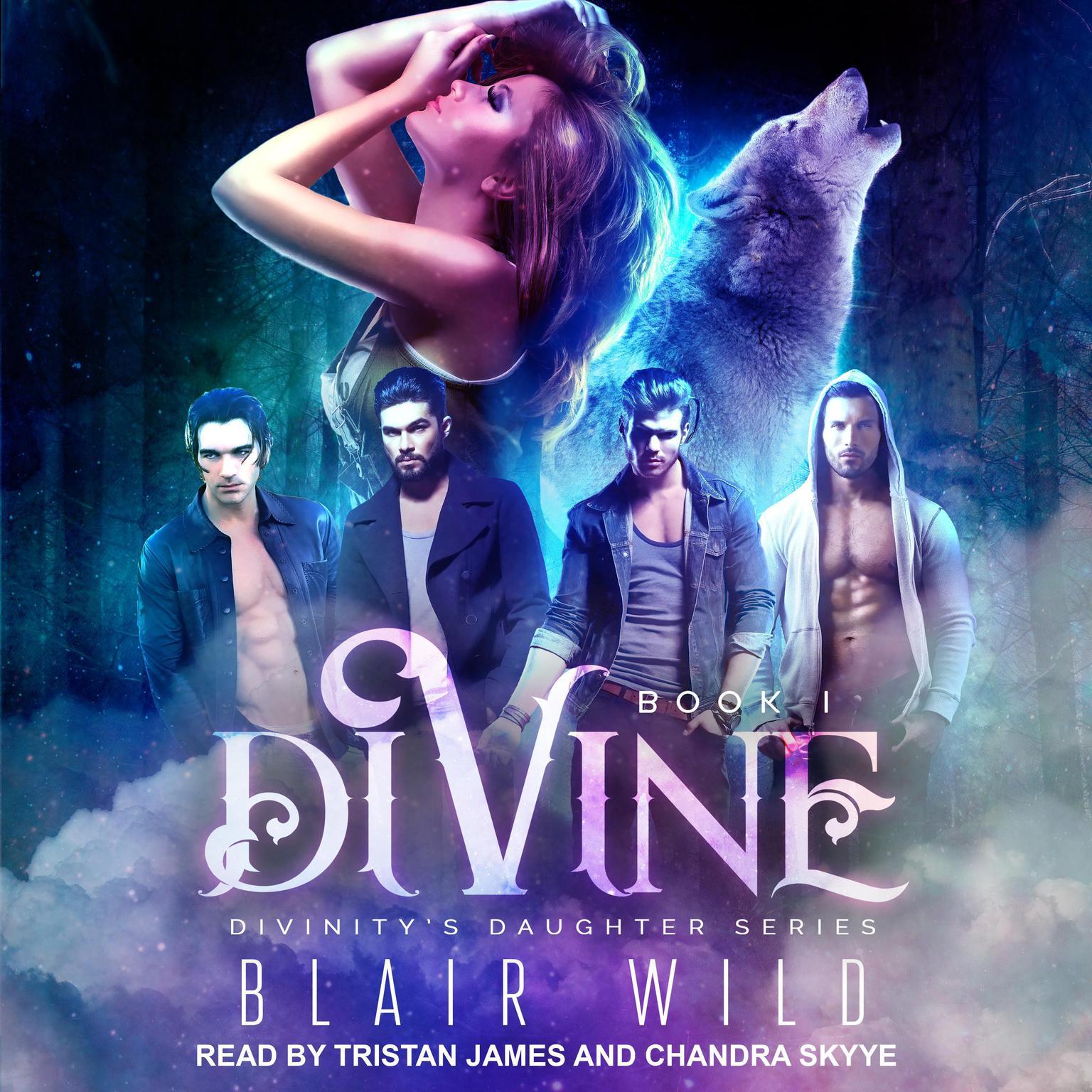 Printable Divine Audiobook Cover Art