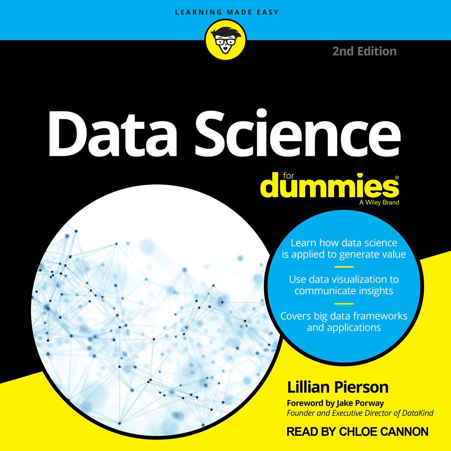 Printable Data Science For Dummies: 2nd Edition Audiobook Cover Art