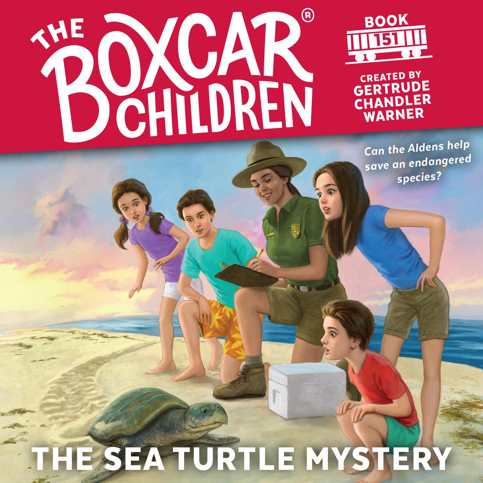 Printable The Sea Turtle Mystery Audiobook Cover Art