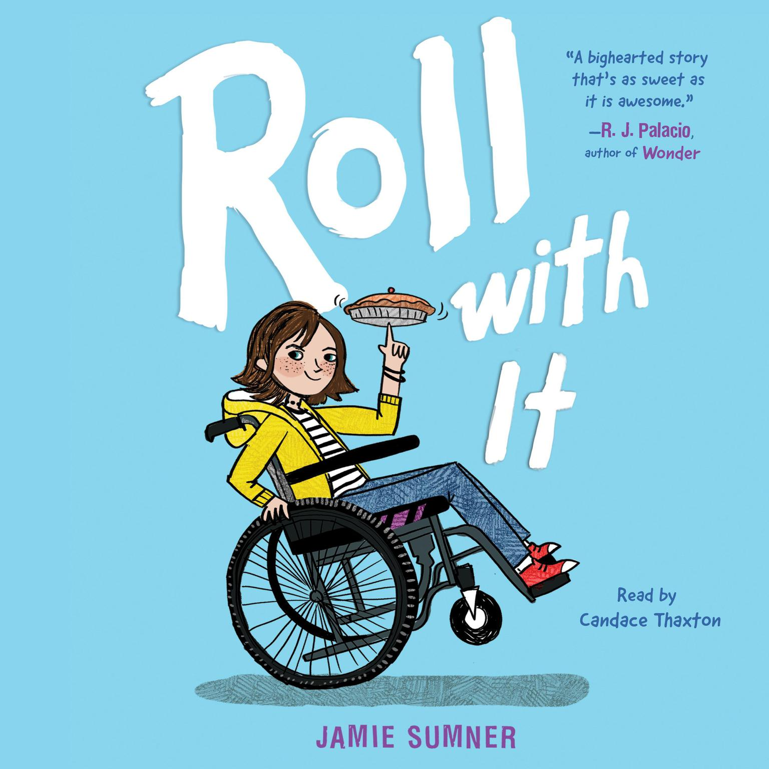 Printable Roll with It Audiobook Cover Art