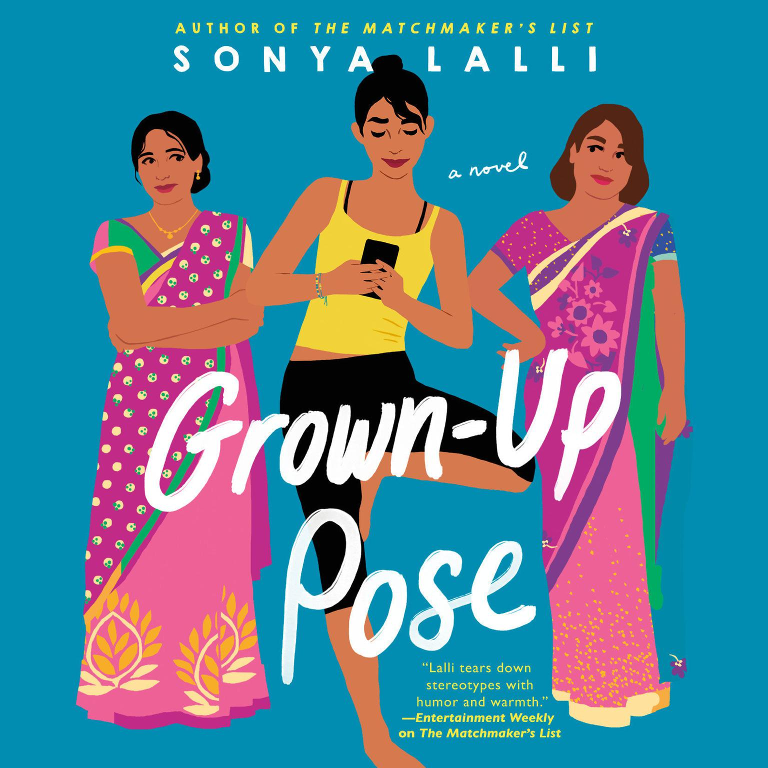 Printable Grown-Up Pose Audiobook Cover Art