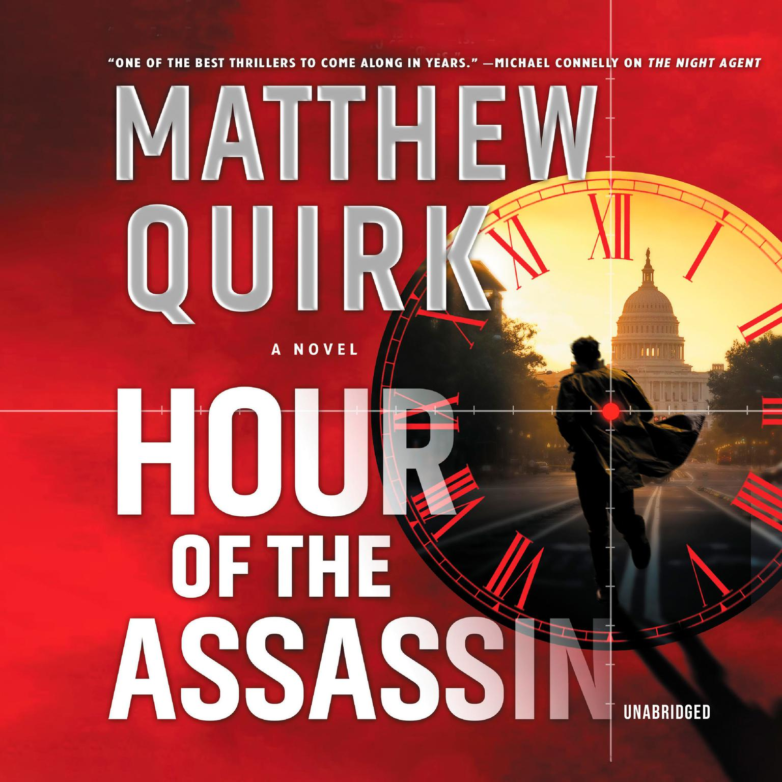 Printable Hour of the Assassin: A Novel Audiobook Cover Art