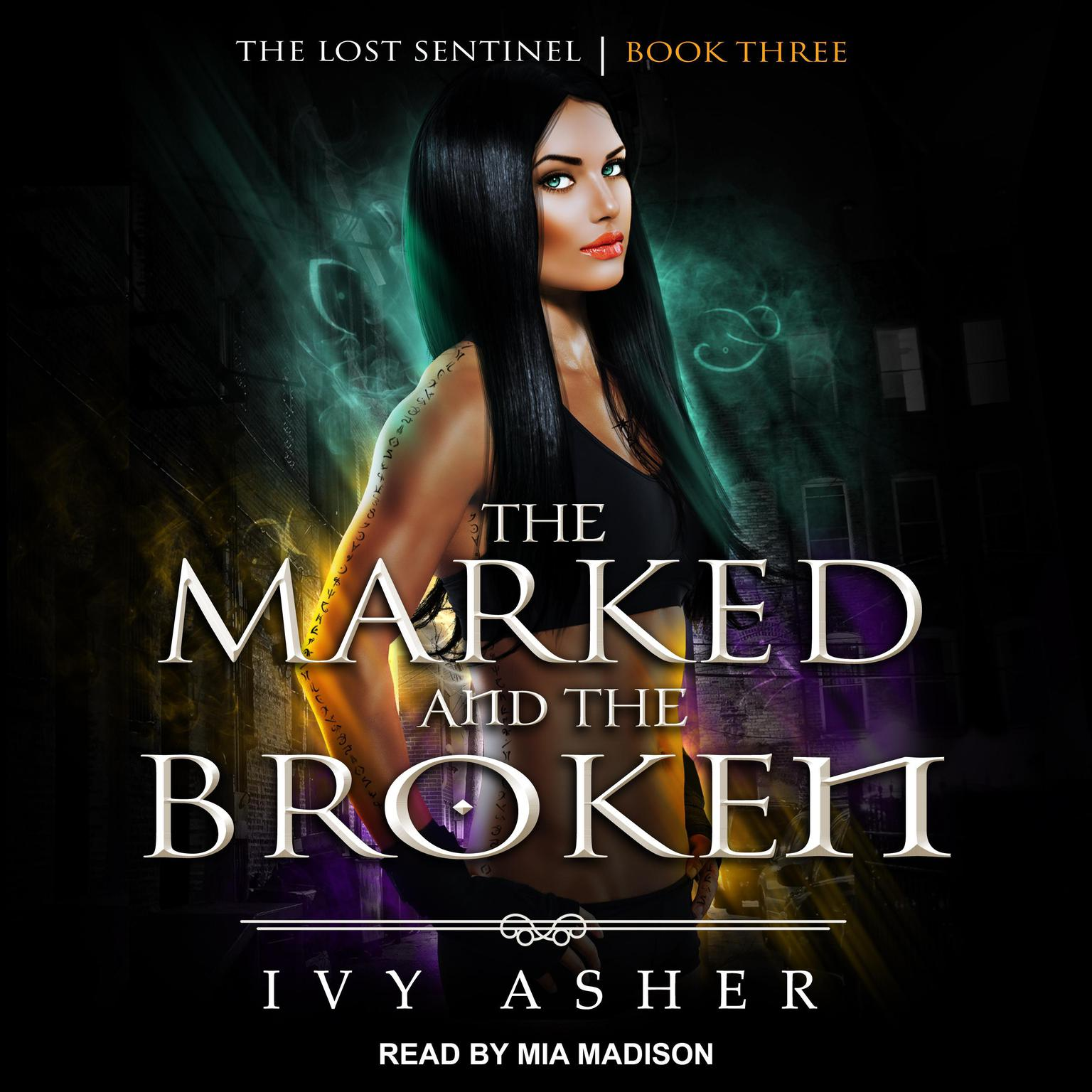 Printable The Marked and the Broken Audiobook Cover Art