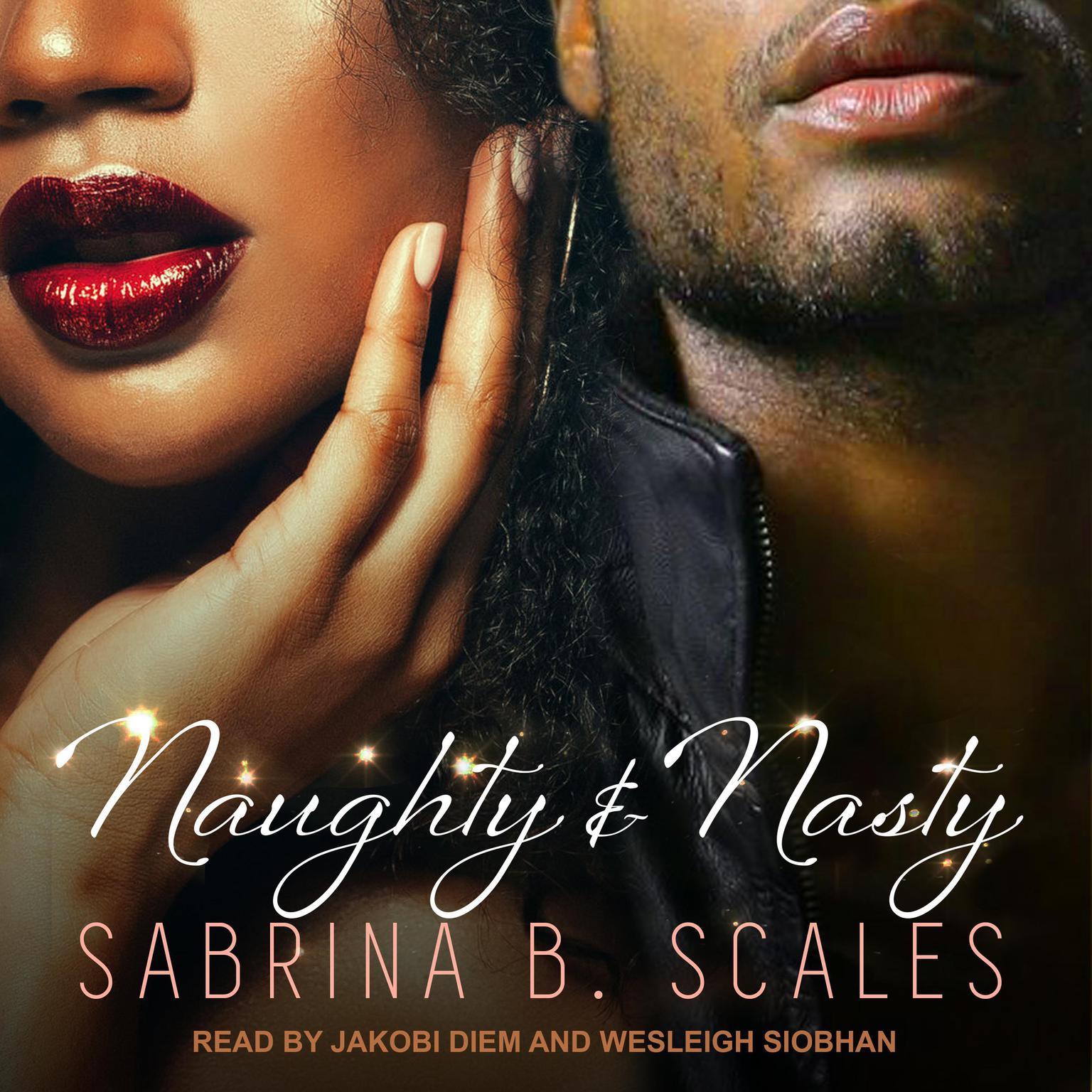 Printable Naughty & Nasty: An Erotic Christmas Novella Audiobook Cover Art