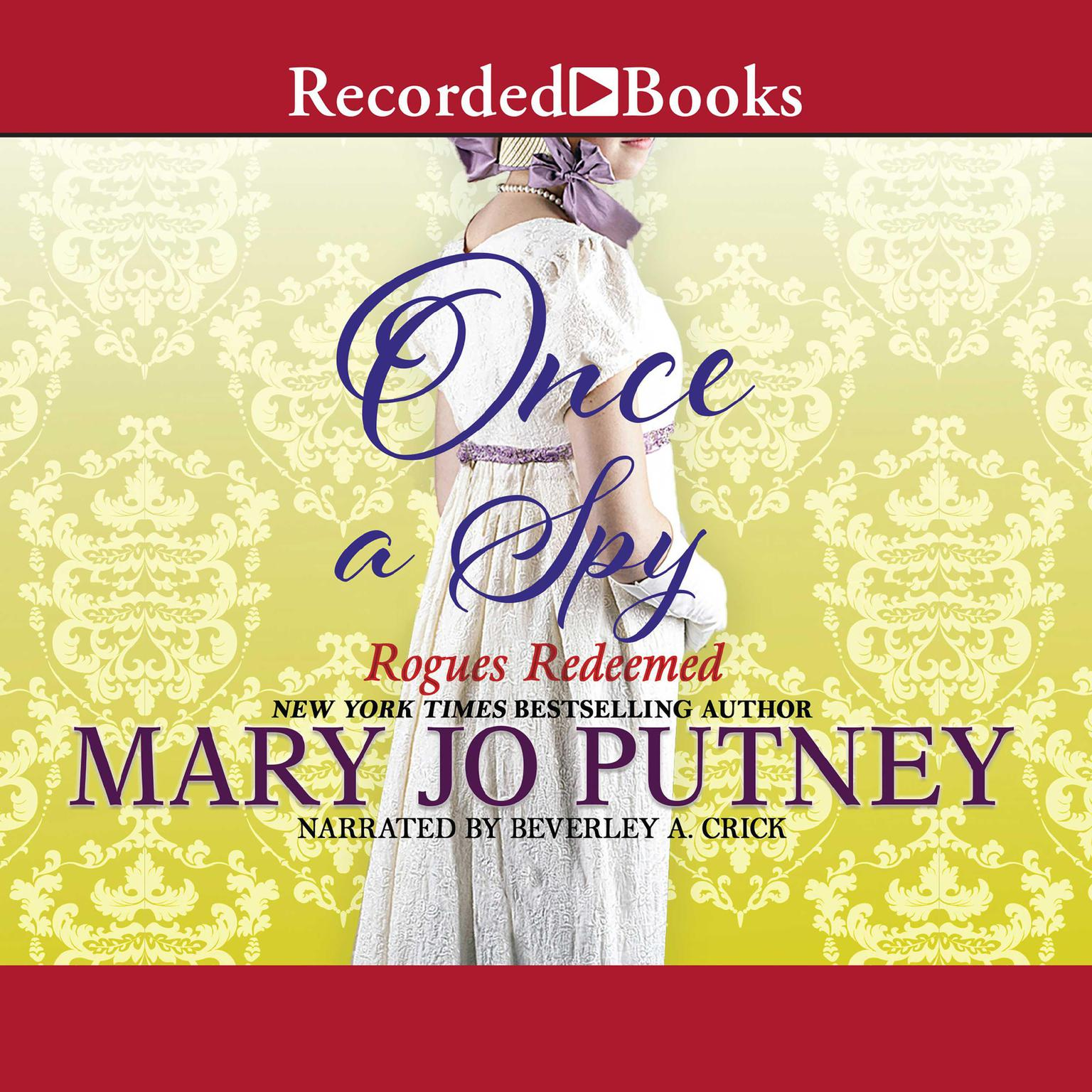 Printable Once a Spy Audiobook Cover Art